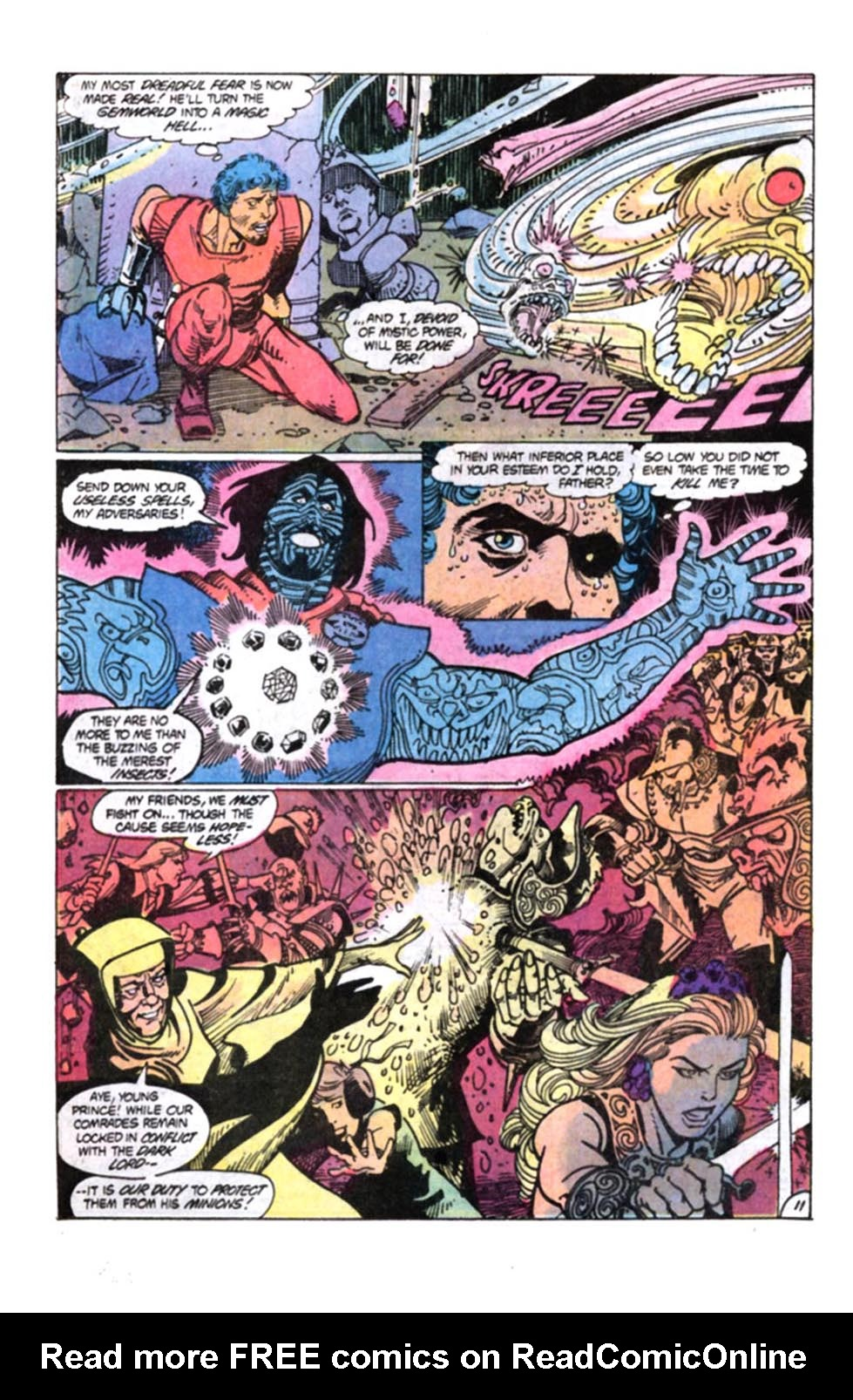 Read online Amethyst, Princess of Gemworld comic -  Issue #12 - 12