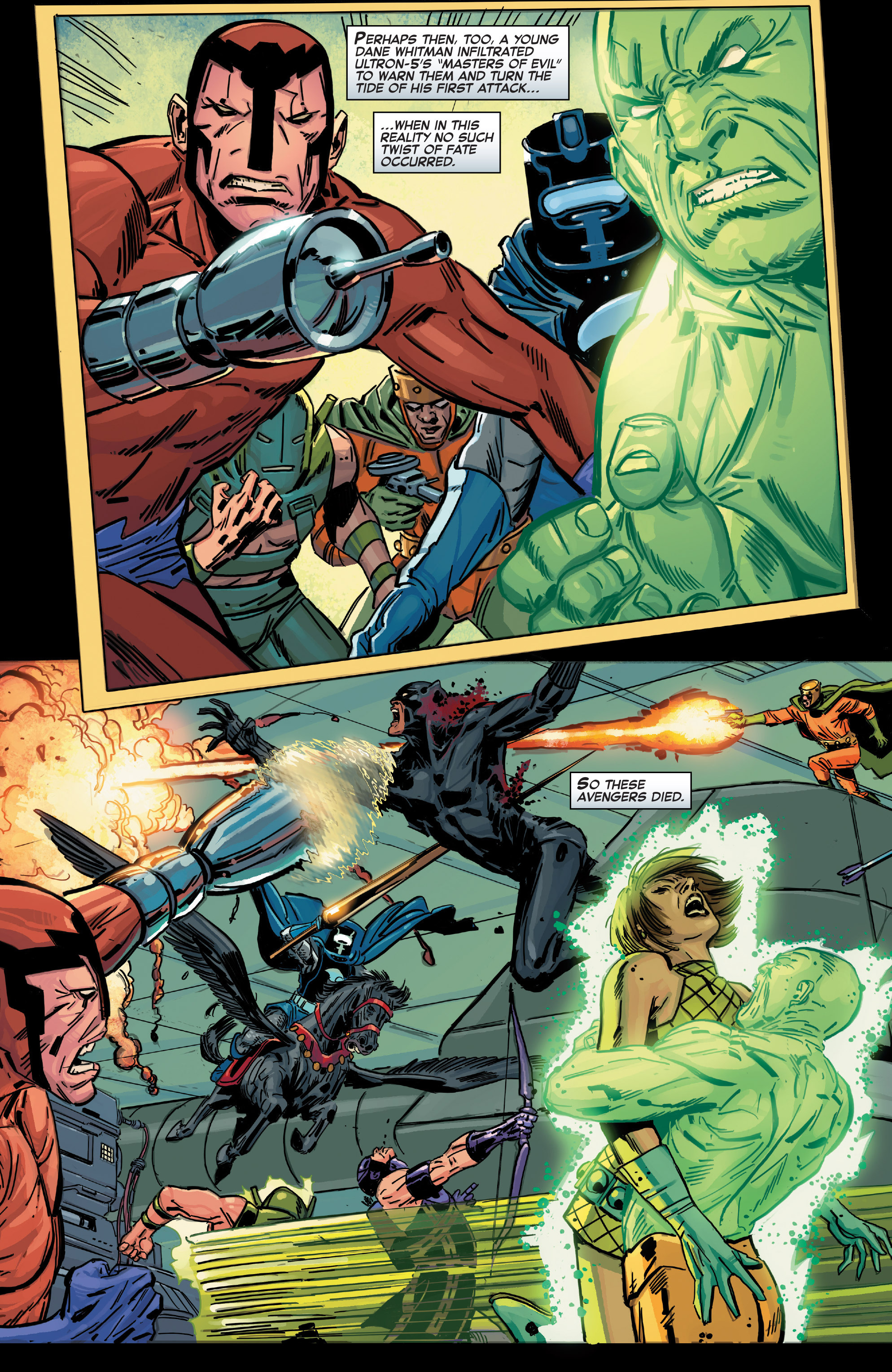 Read online Age of Ultron Vs. Marvel Zombies comic -  Issue #1 - 9