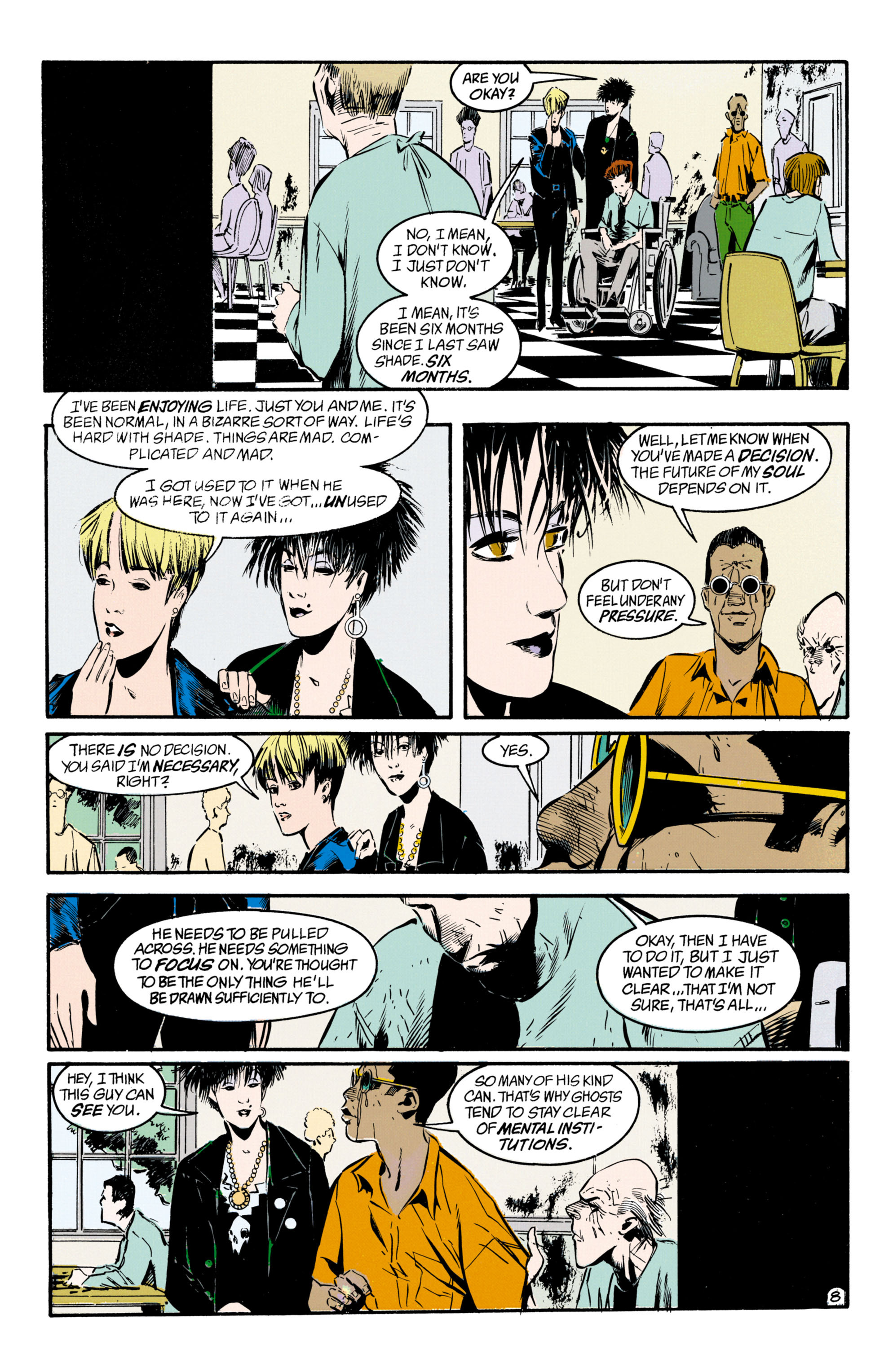Read online Shade, the Changing Man comic -  Issue #33 - 9
