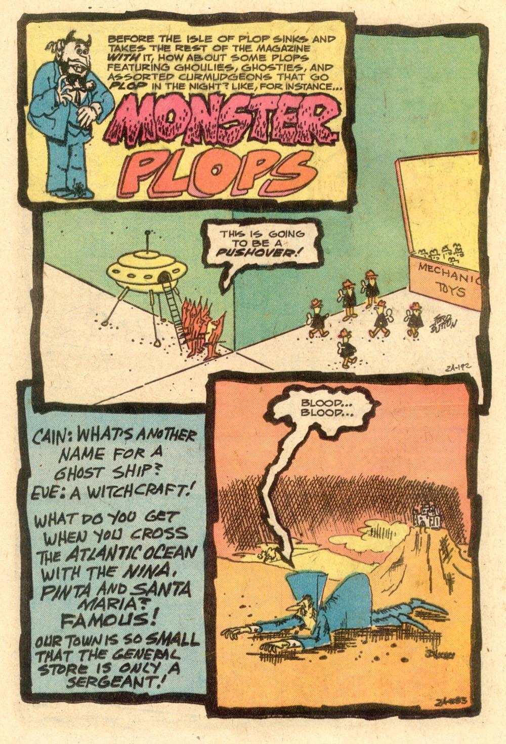 Read online Plop! comic -  Issue #24 - 24