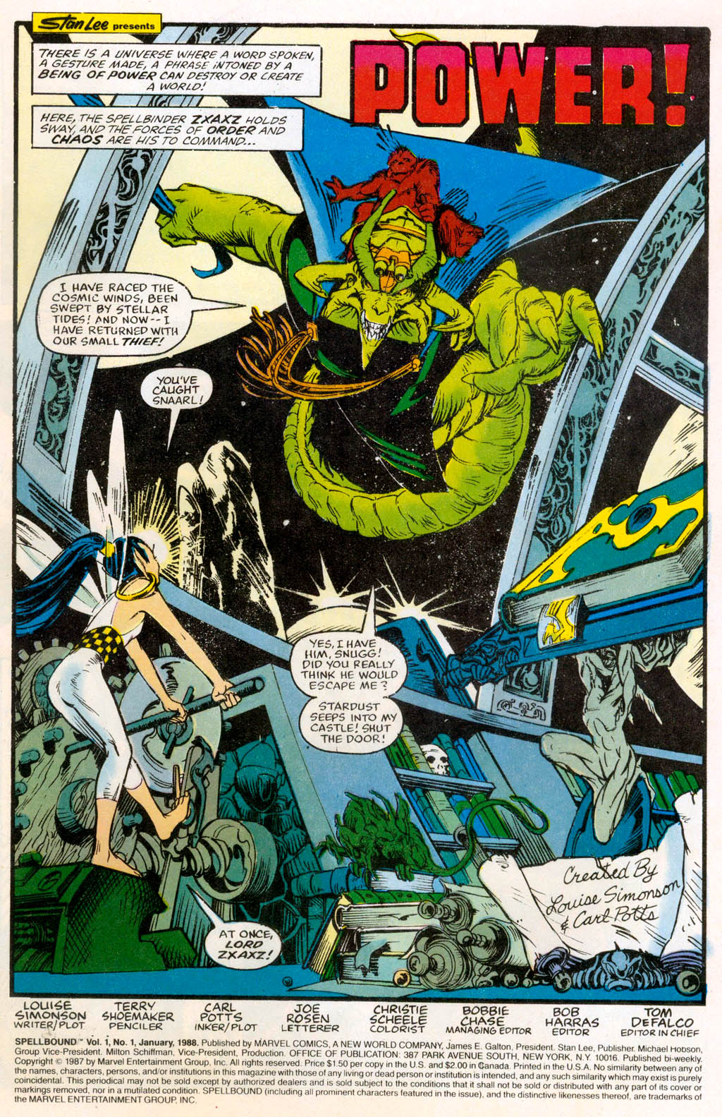 Spellbound (1988) issue 1 - Page 2