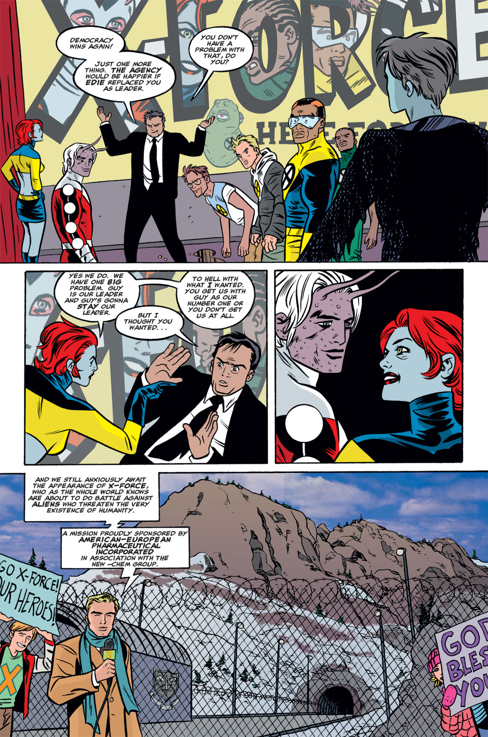 Read online X-Force (1991) comic -  Issue #125 - 21