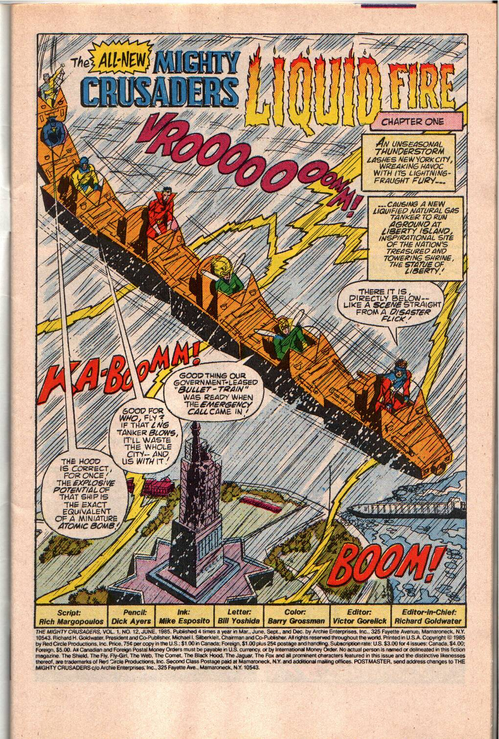 The All New Adventures of the Mighty Crusaders 12 Page 3