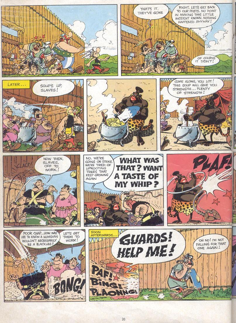 Read online Asterix comic -  Issue #17 - 18