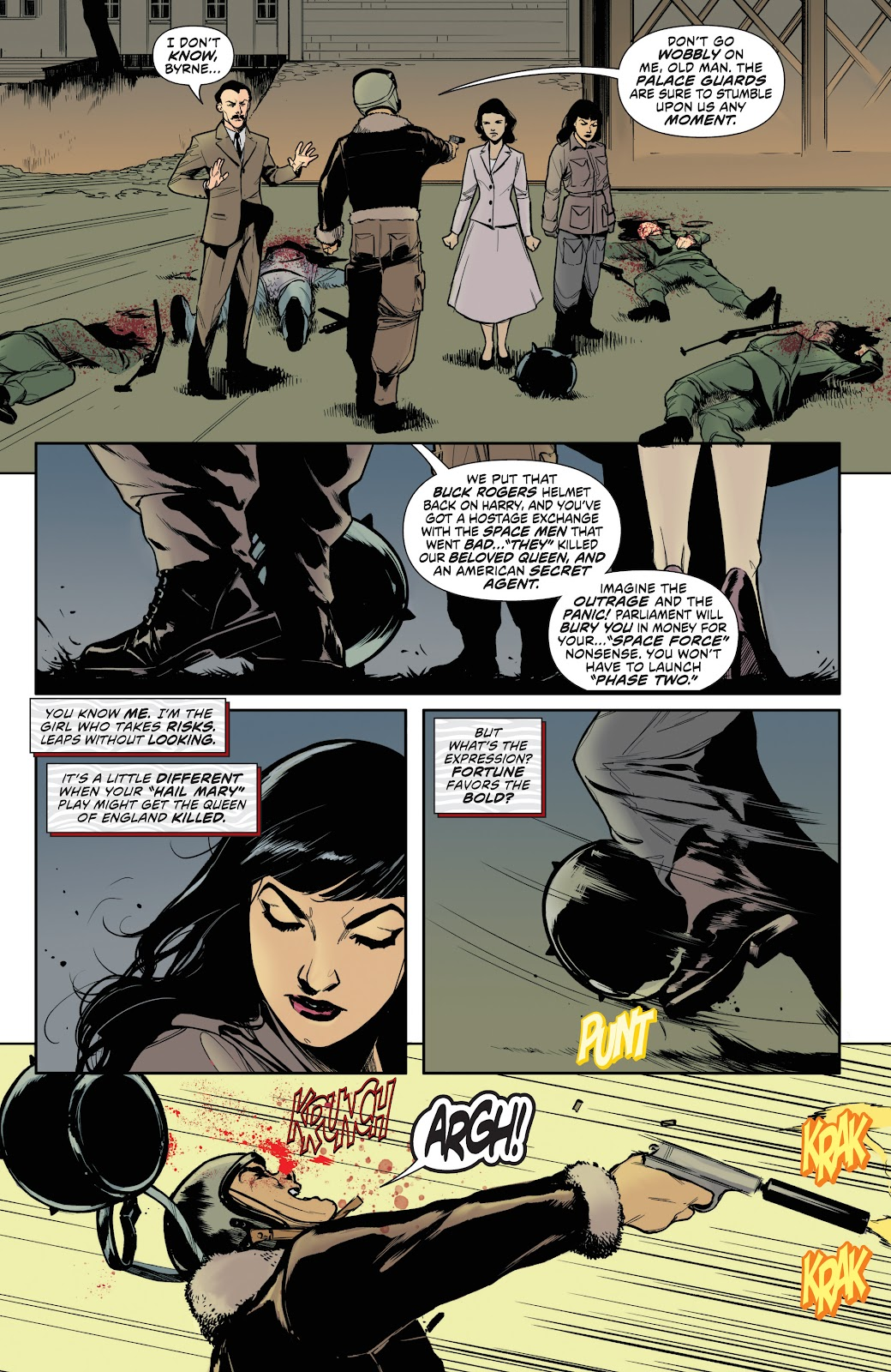 Read online Bettie Page (2018) comic -  Issue #3 - 24
