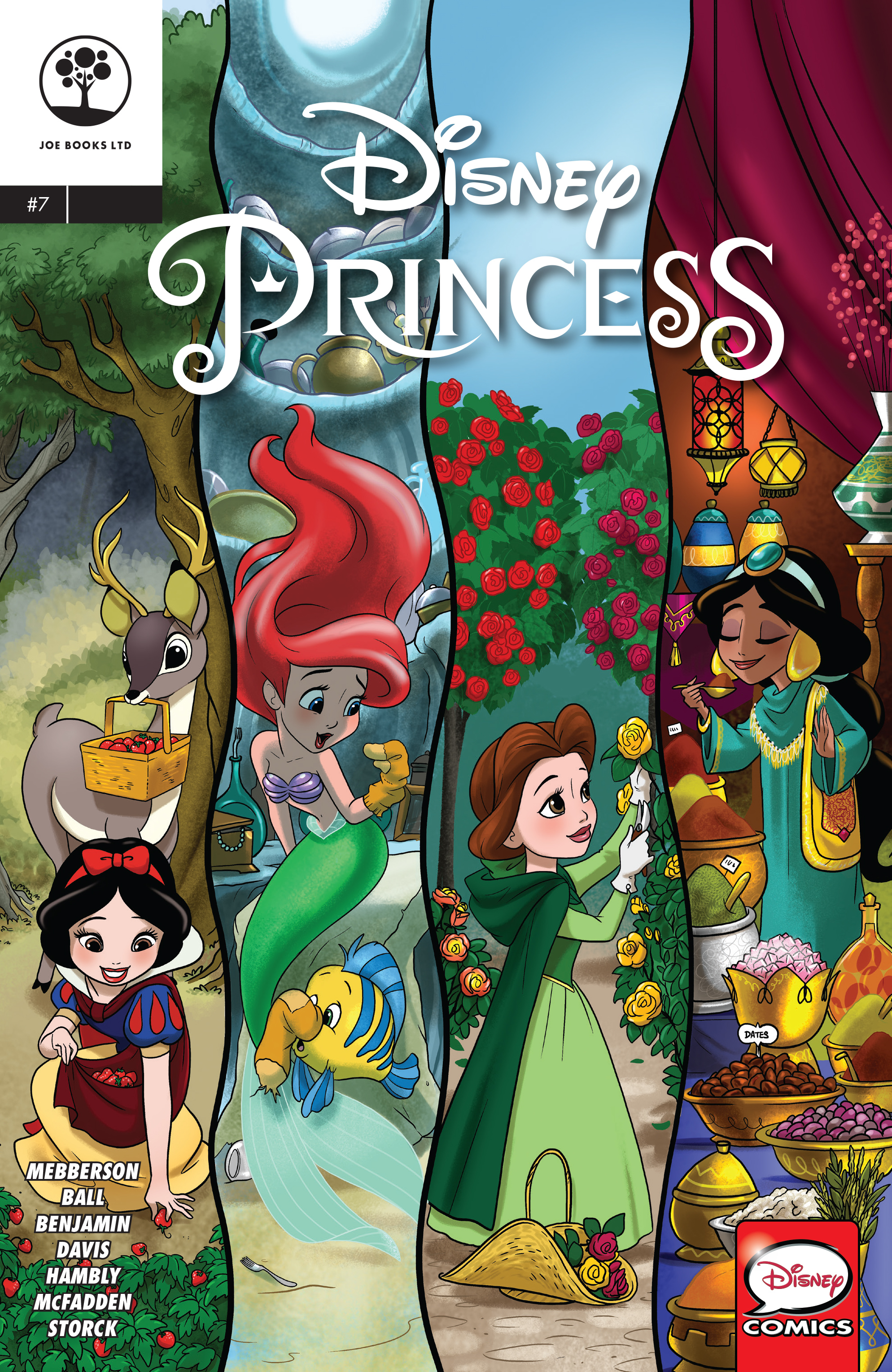 Read online Disney Princess comic -  Issue #7 - 1