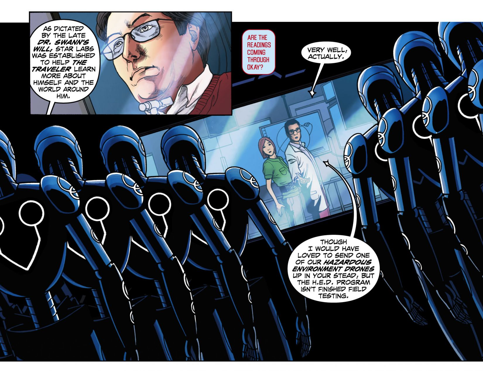 Read online Smallville: Season 11 comic -  Issue #4 - 12