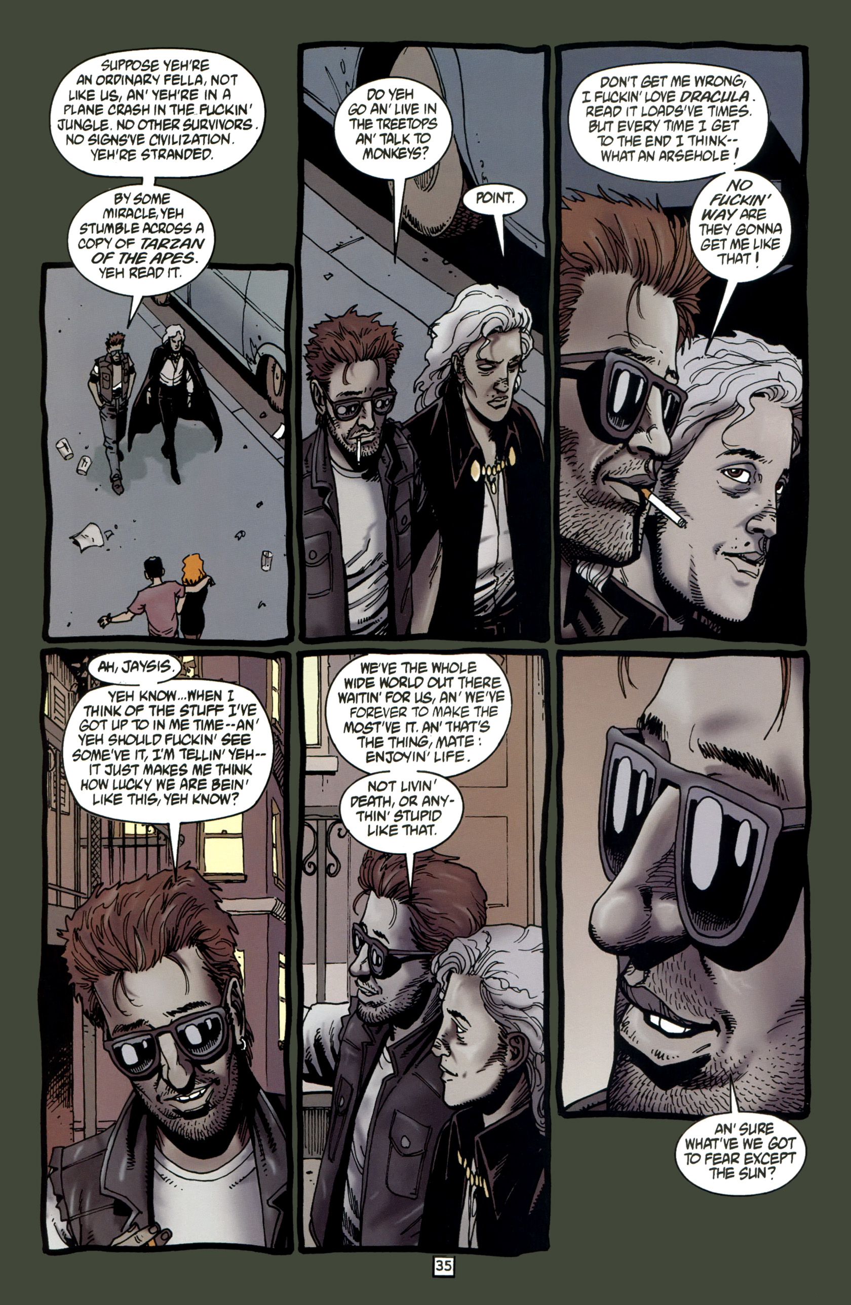 Read online Preacher Special: Cassidy : Blood and Whiskey comic -  Issue # Full - 37