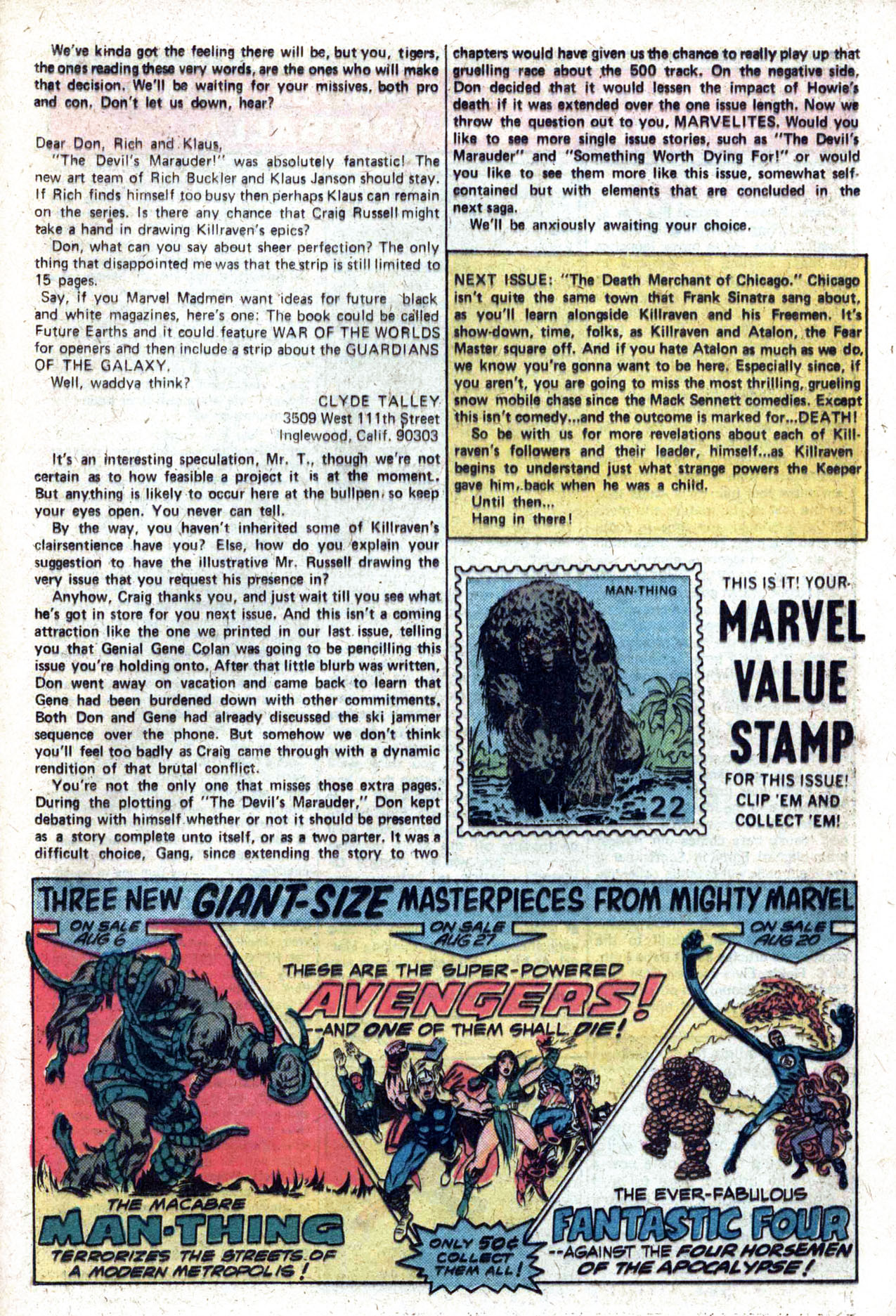 Read online Amazing Adventures (1970) comic -  Issue #27 - 20