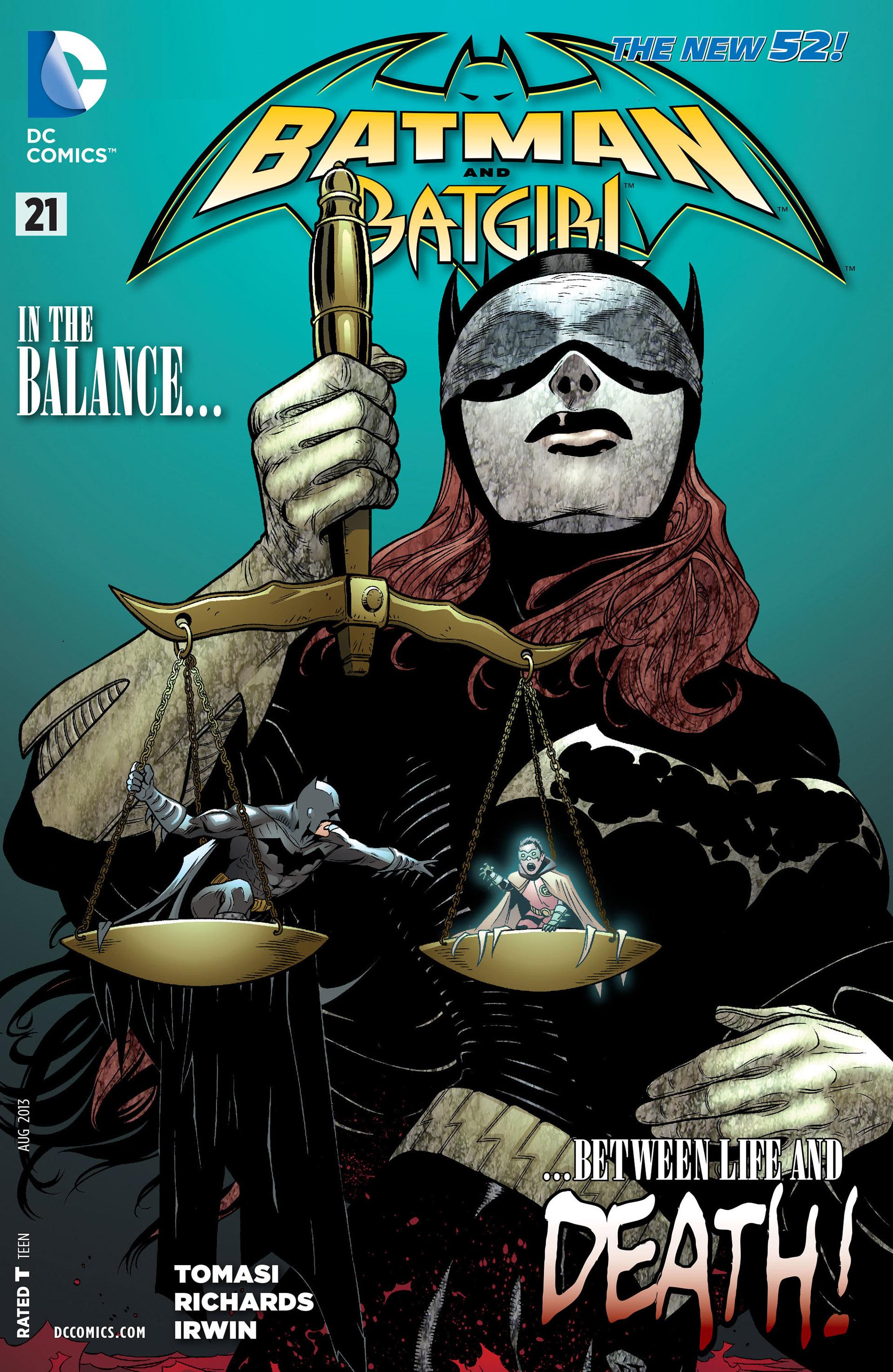 Batman and Robin (2011) 21_-_Batman_and_Batgirl Page 1