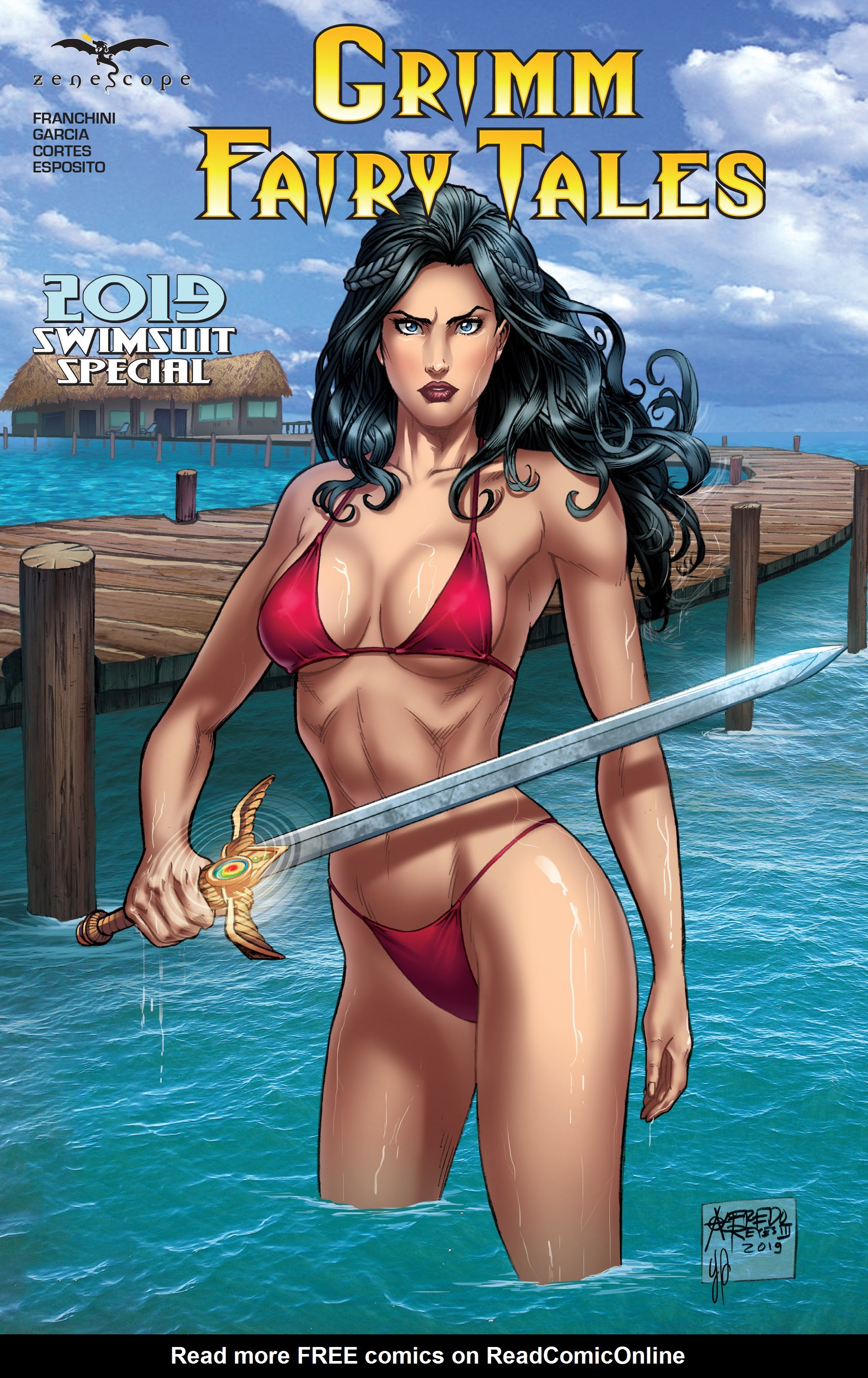 Grimm Fairy Tales 2019 Swimsuit Special Full Page 1