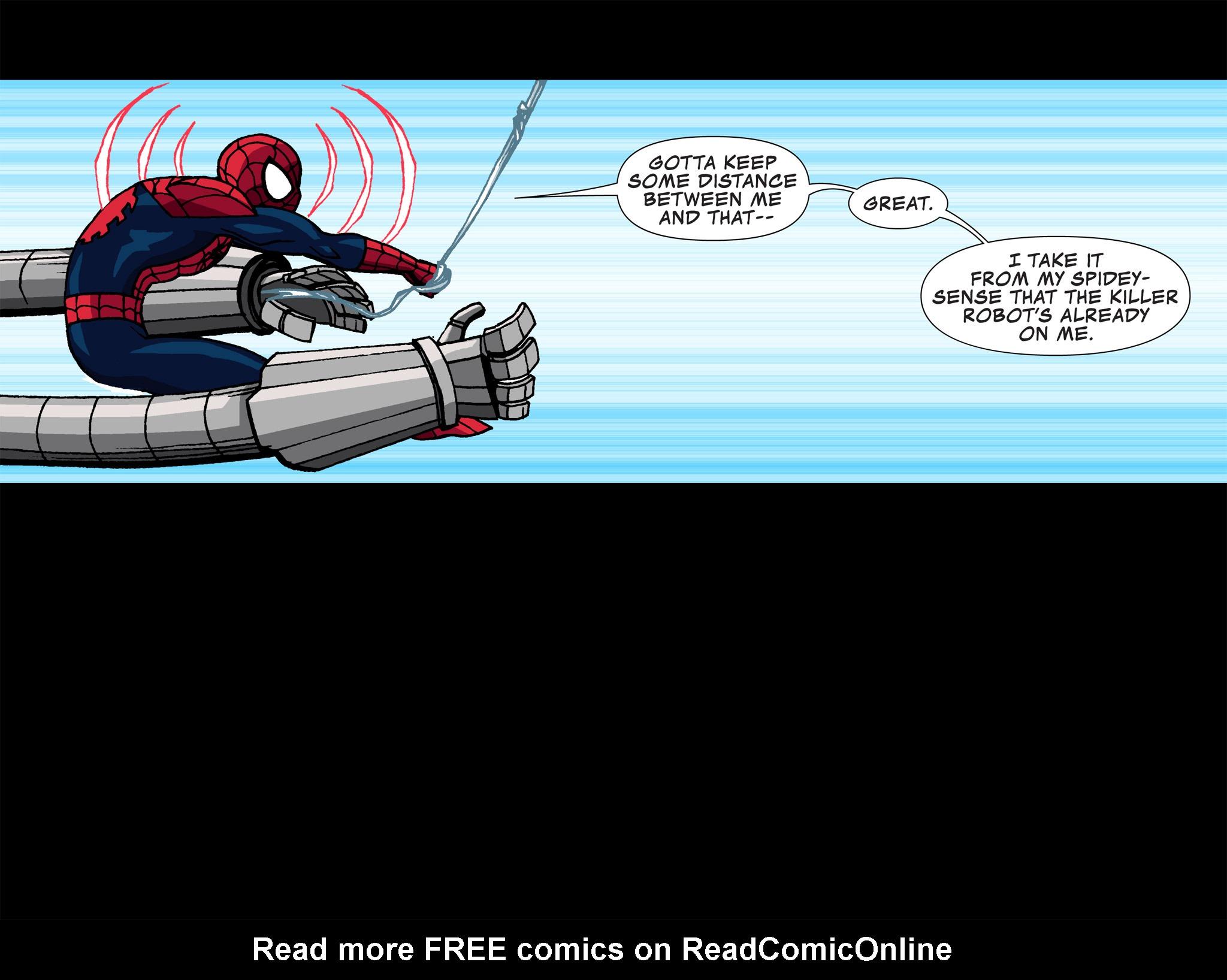 Read online Ultimate Spider-Man (Infinite Comics) (2015) comic -  Issue #3 - 5