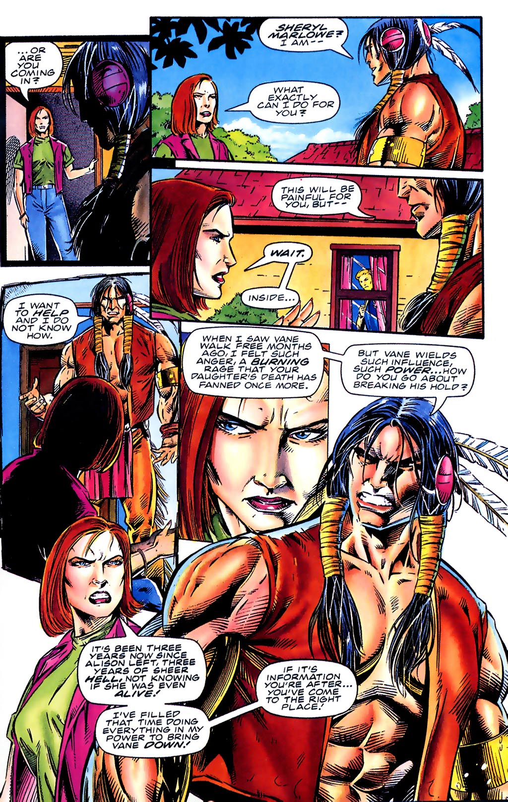Read online Turok, Dinosaur Hunter (1993) comic -  Issue #41 - 7