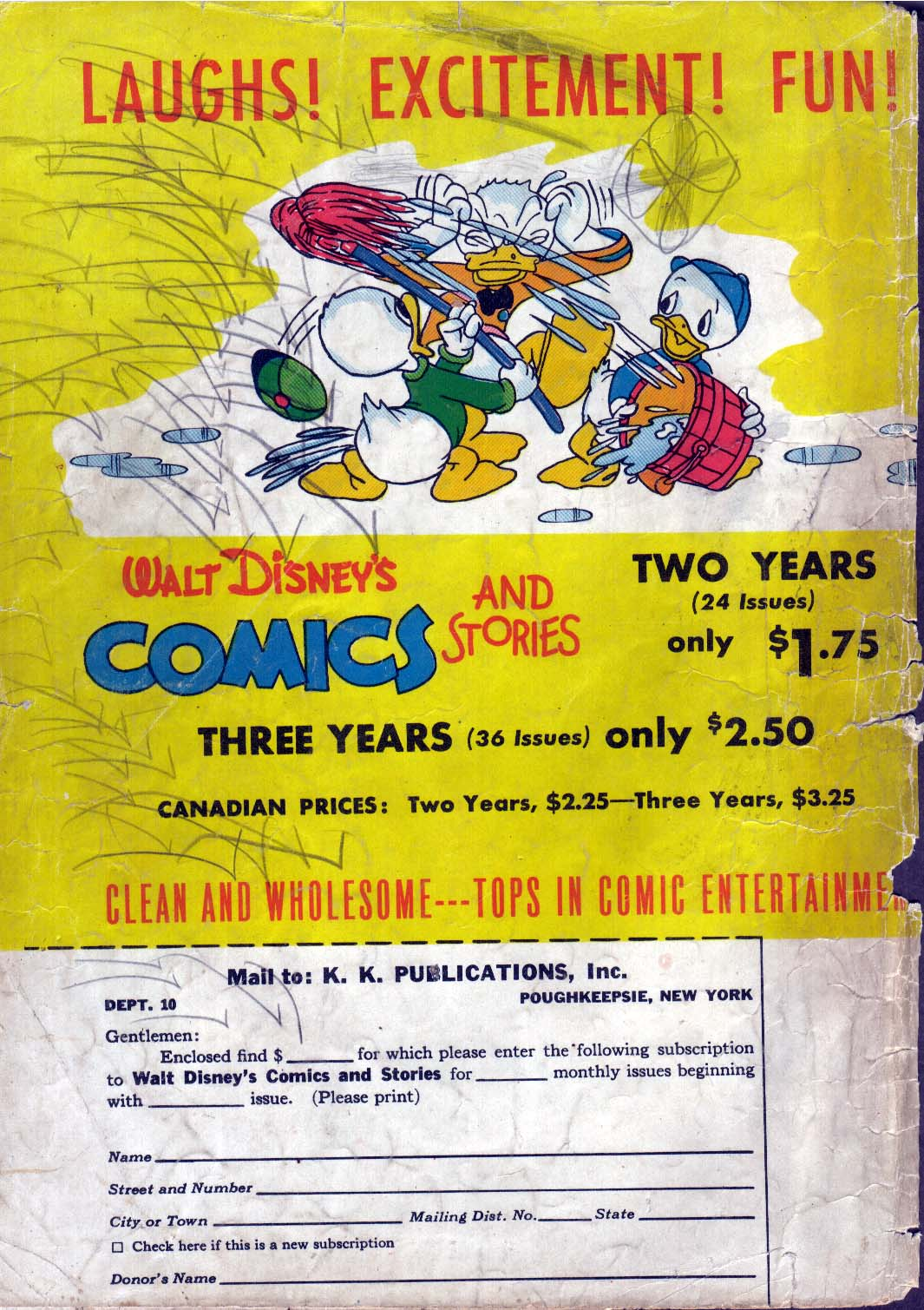 Walt Disney's Comics and Stories issue 61 - Page 53