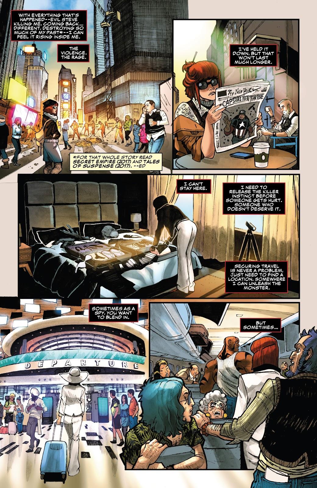 Read online Black Widow (2019) comic -  Issue #1 - 15