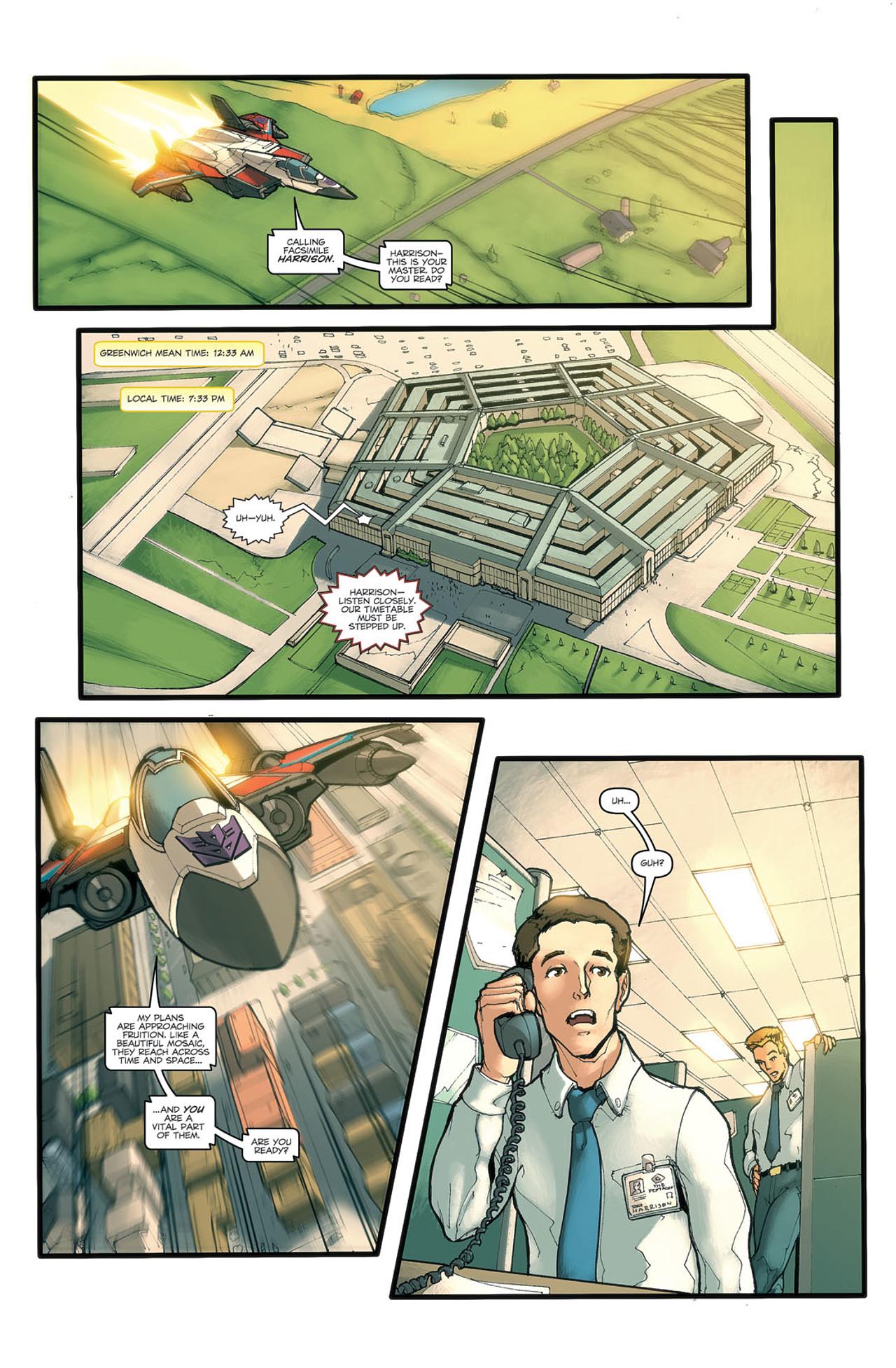 Read online Transformers Spotlight: Ramjet comic -  Issue # Full - 11
