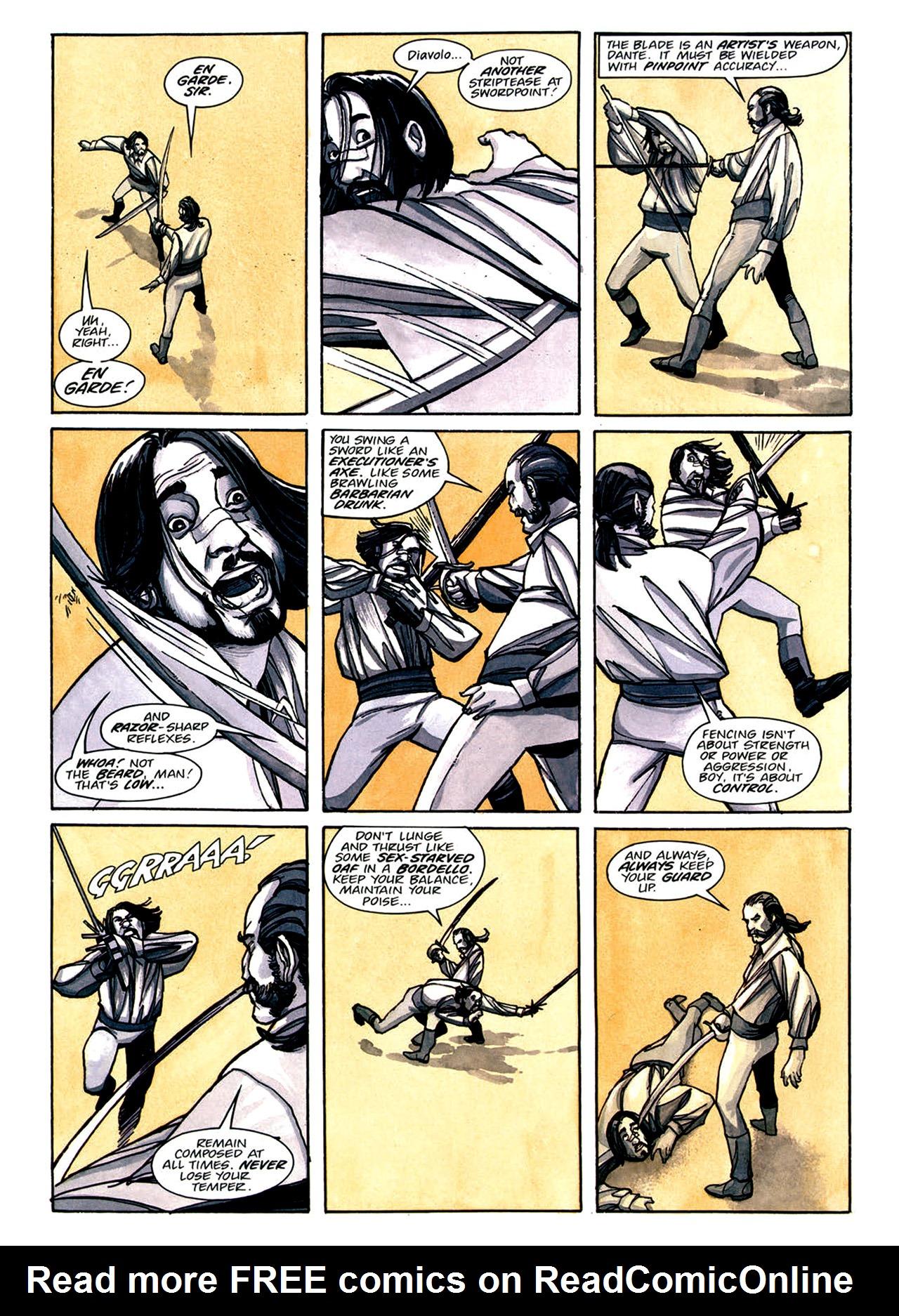 Read online Nikolai Dante comic -  Issue # TPB 1 - 150