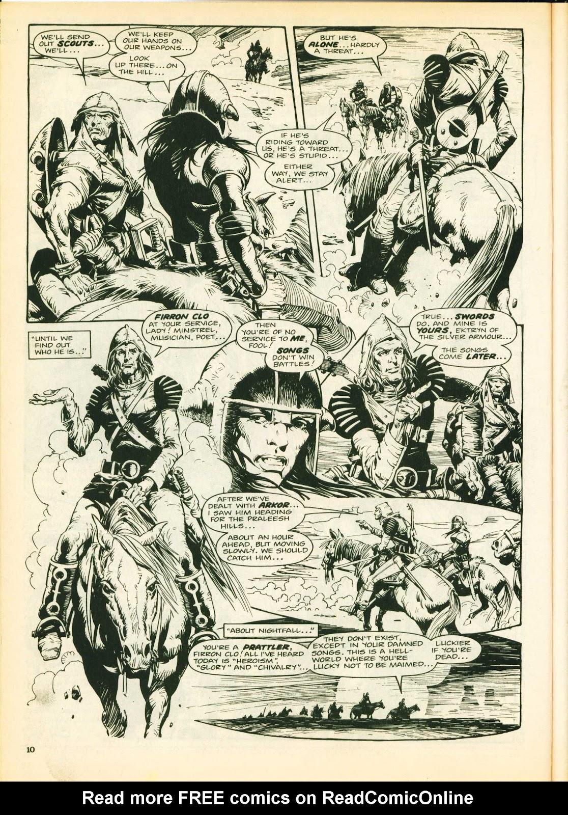 Warrior Issue #25 #26 - English 10