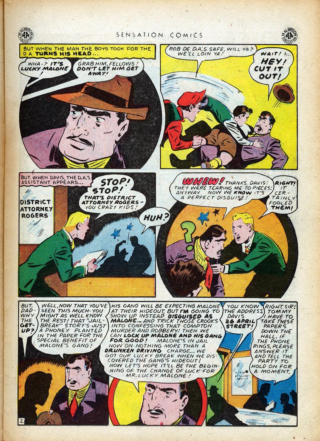 Read online Sensation (Mystery) Comics comic -  Issue #40 - 21