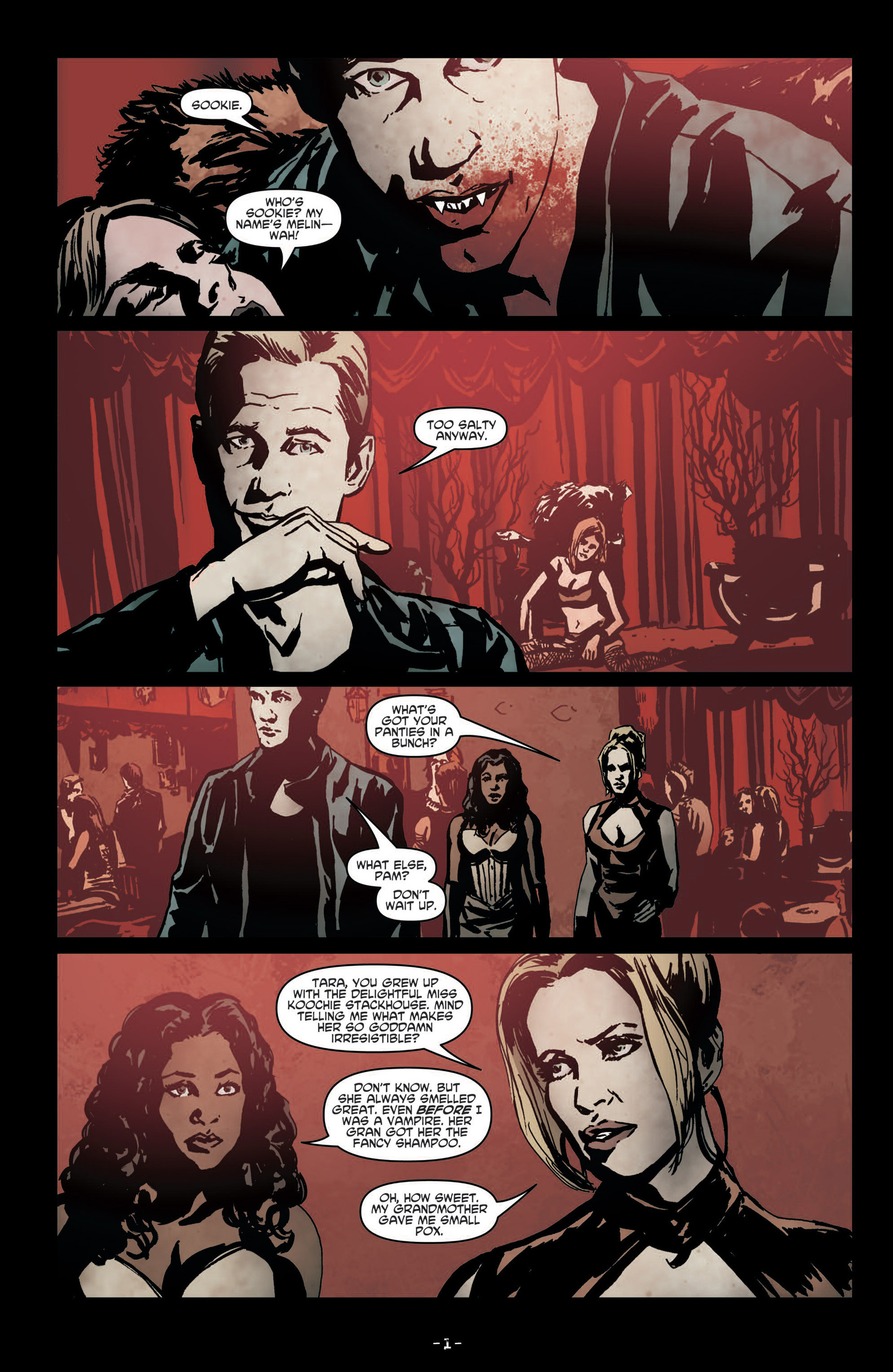 Read online True Blood (2012) comic -  Issue #7 - 3