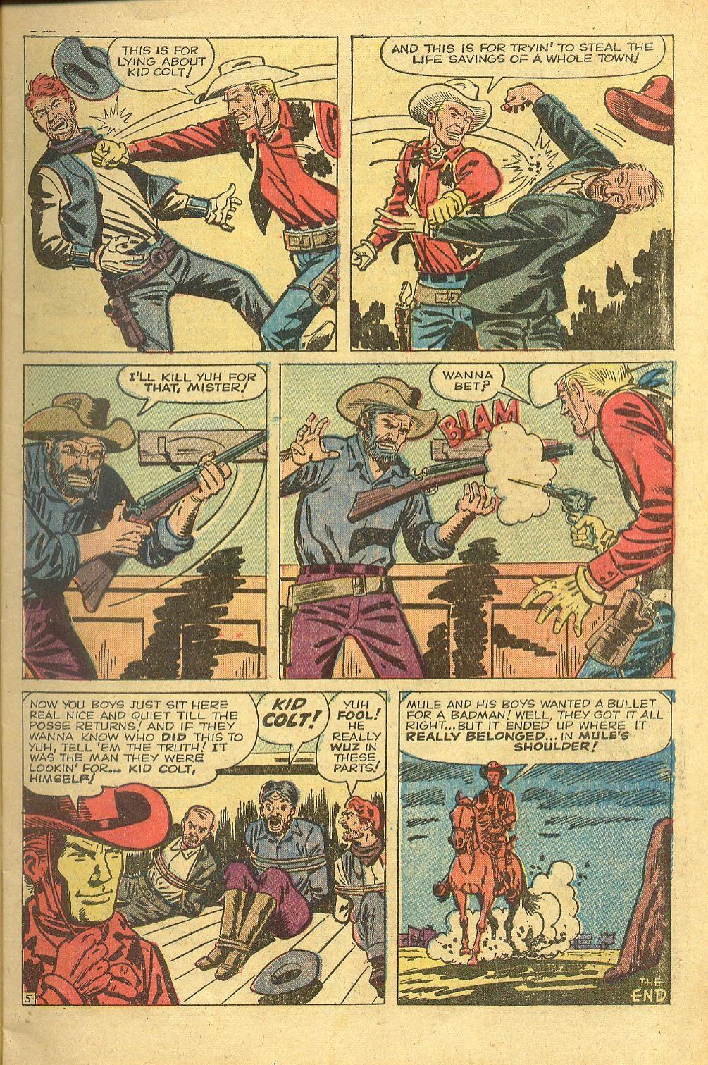 Gunsmoke Western issue 58 - Page 7