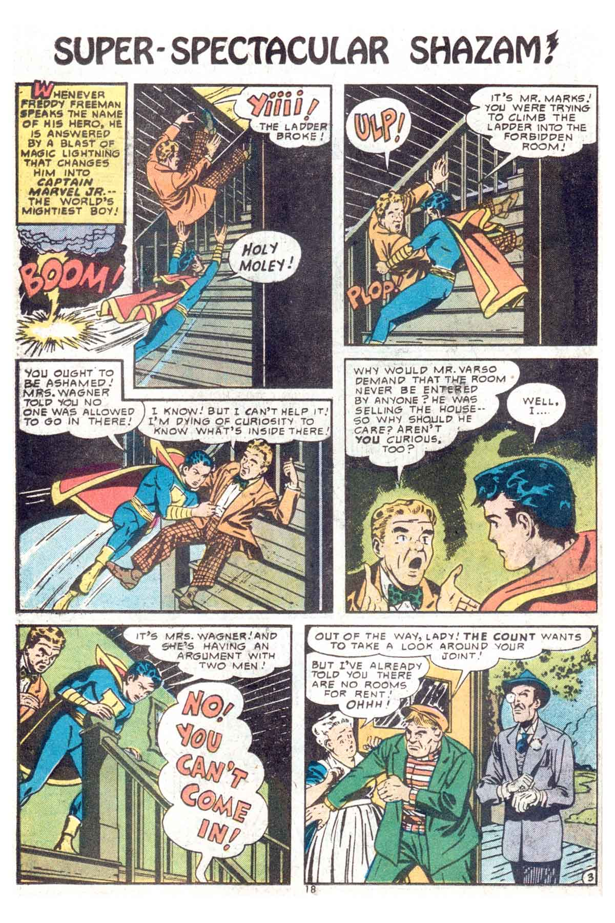 Read online Shazam! (1973) comic -  Issue #13 - 19