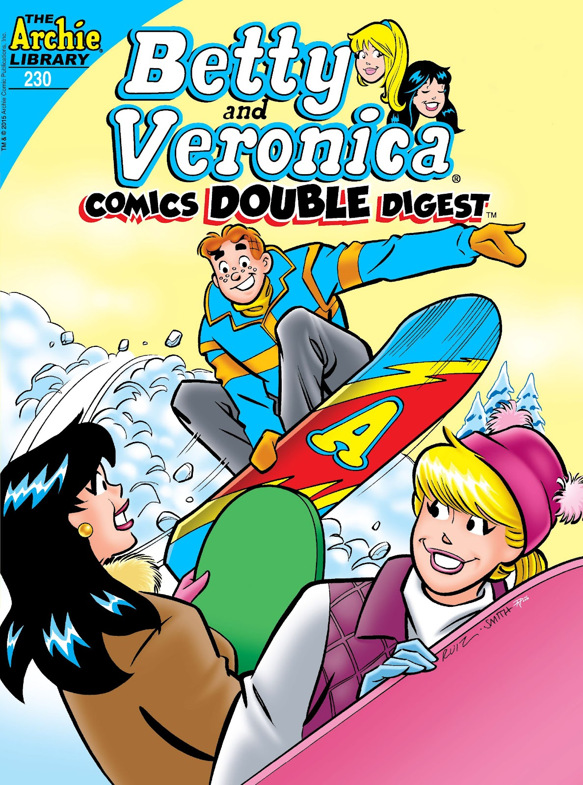 Betty and Veronica Double Digest 230 Page 1