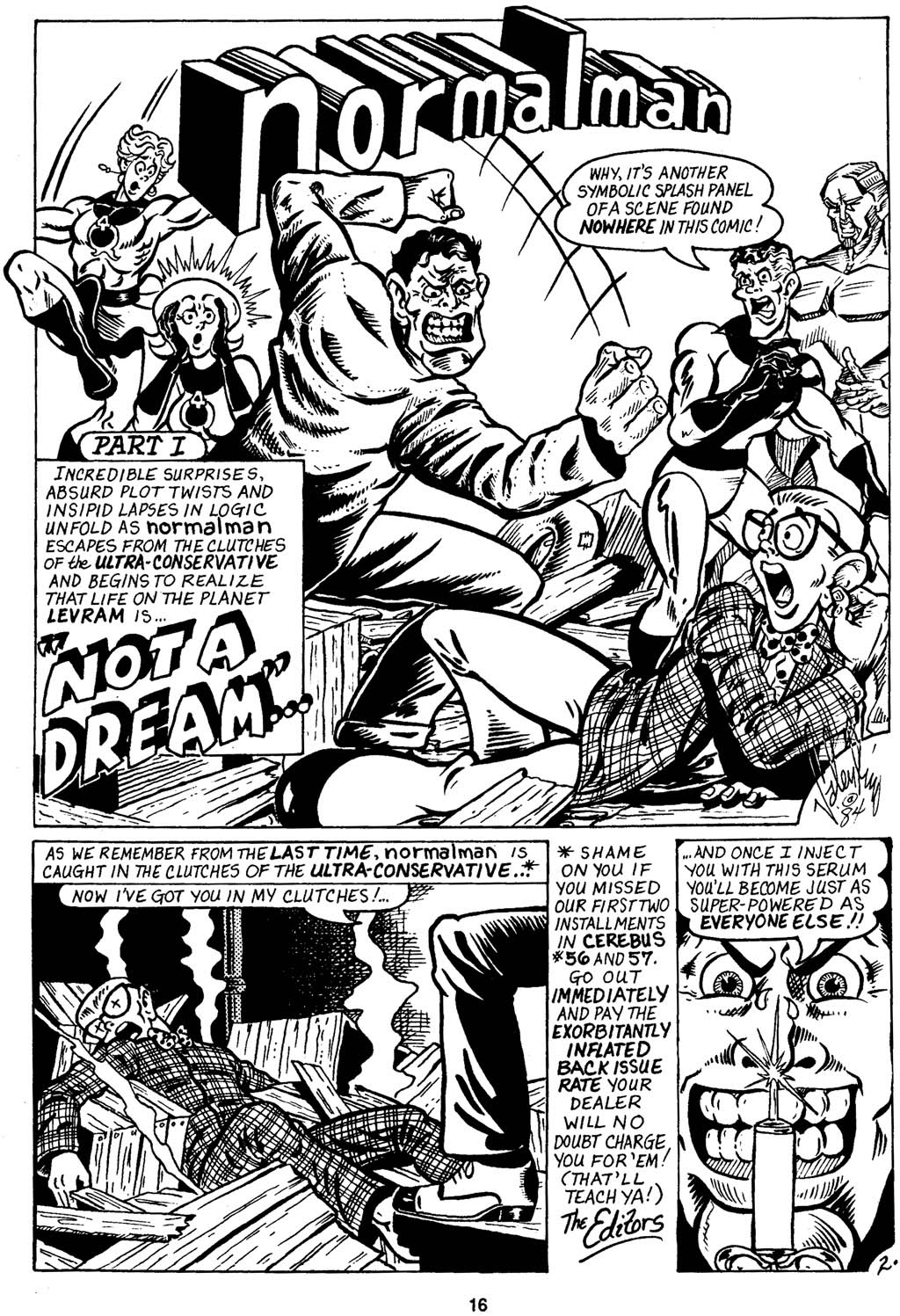 Read online Normalman - The Novel comic -  Issue # TPB (Part 1) - 21