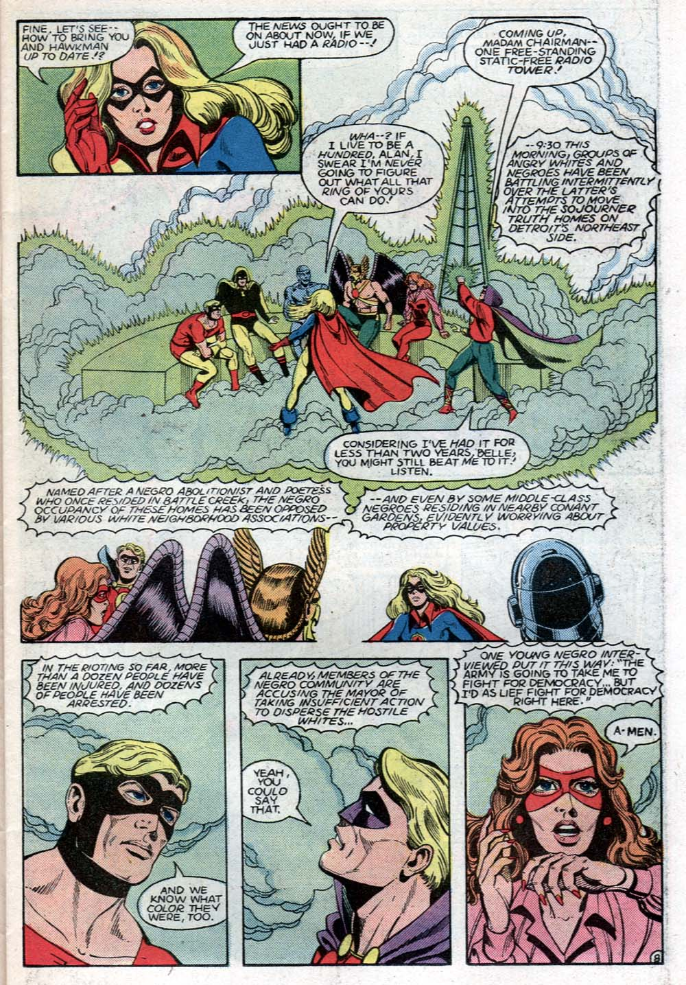 Read online All-Star Squadron comic -  Issue #40 - 9