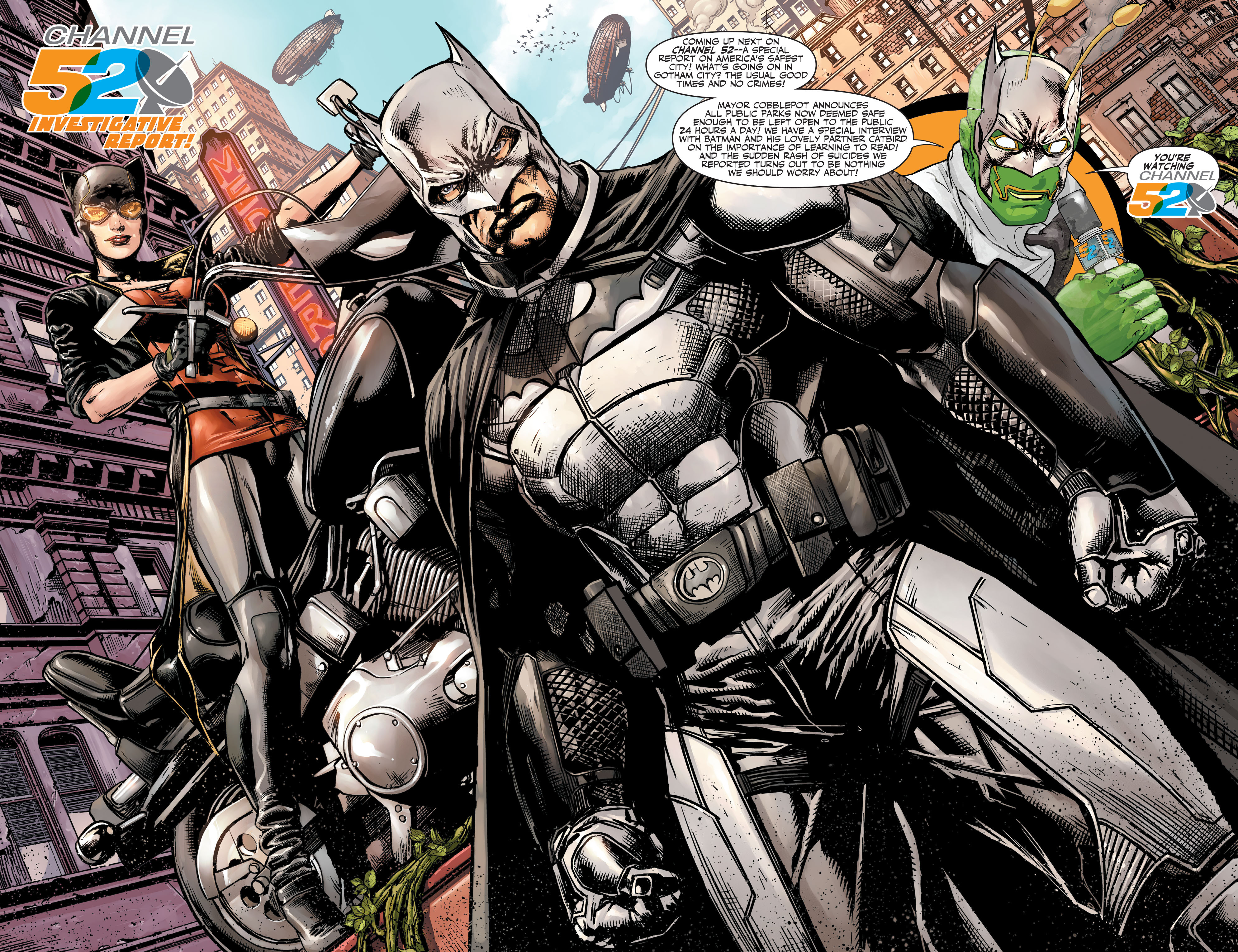 Read online Batman and Robin (2011) comic -  Issue #27 - Batman and Two-Face - 21