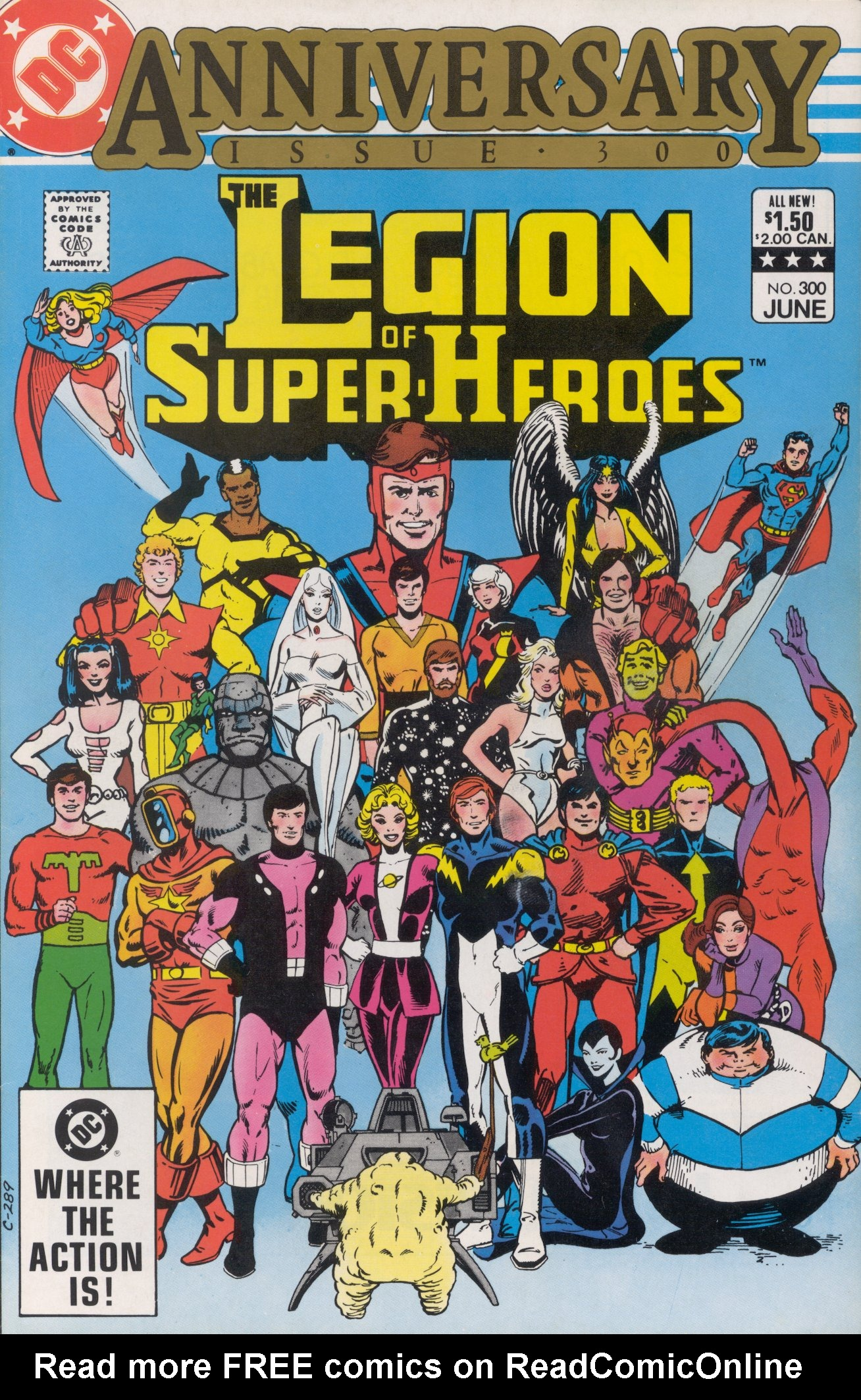 Legion of Super-Heroes (1980) 300 Page 0