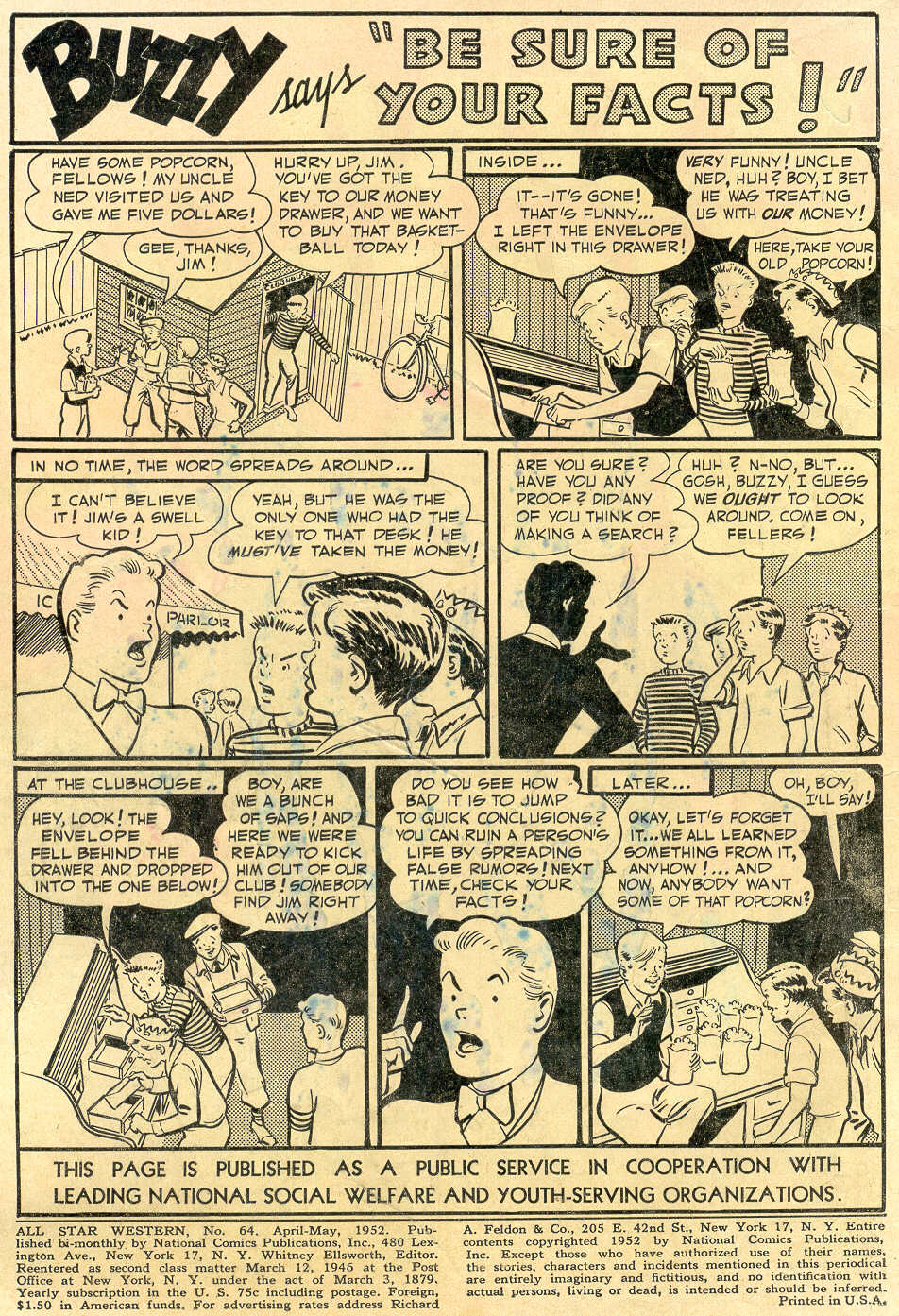 Read online All-Star Western (1951) comic -  Issue #64 - 2