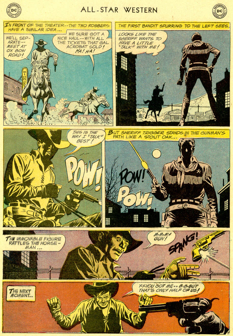 Read online All-Star Western (1951) comic -  Issue #103 - 6