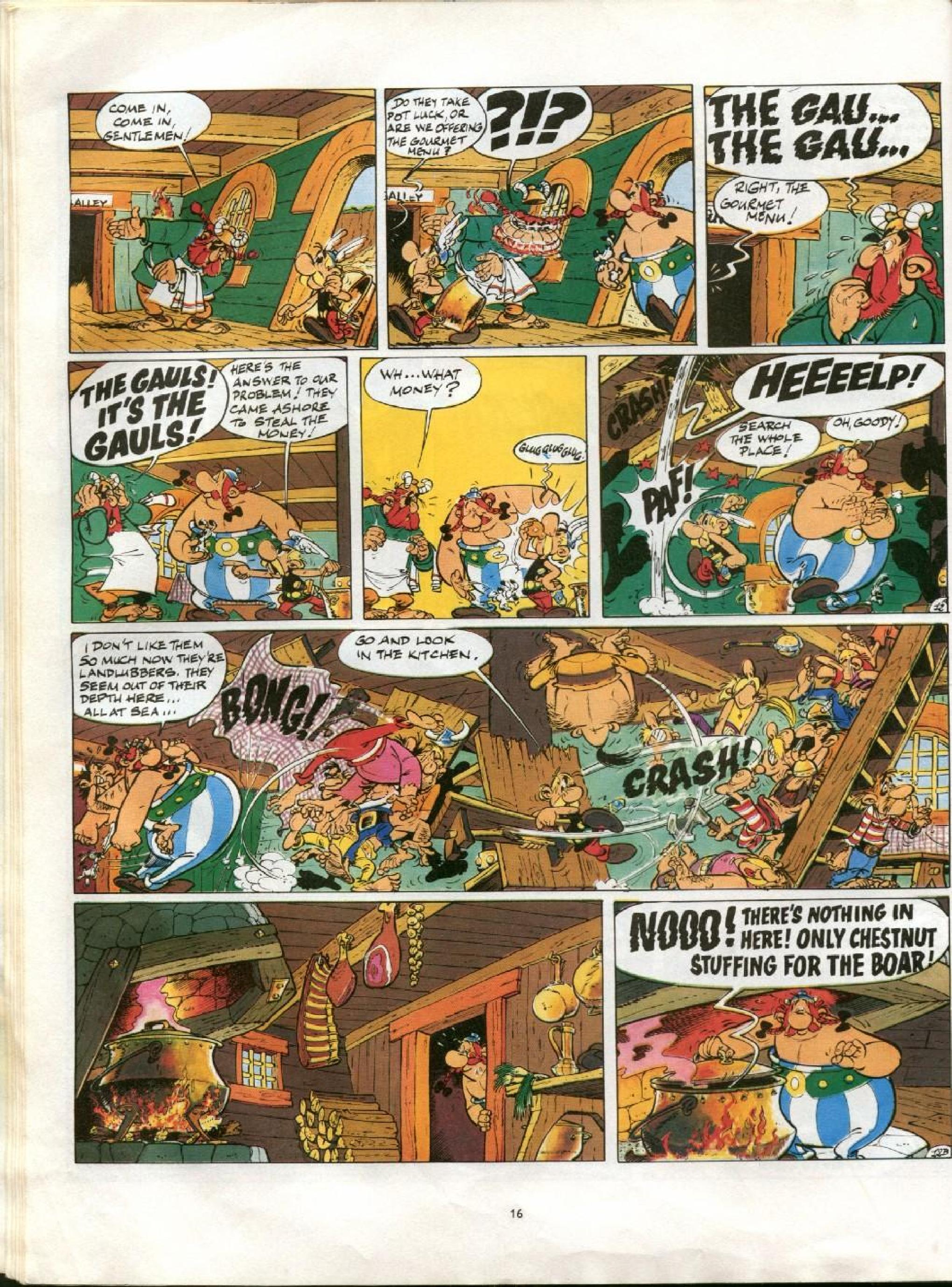 Read online Asterix comic -  Issue #13 - 13