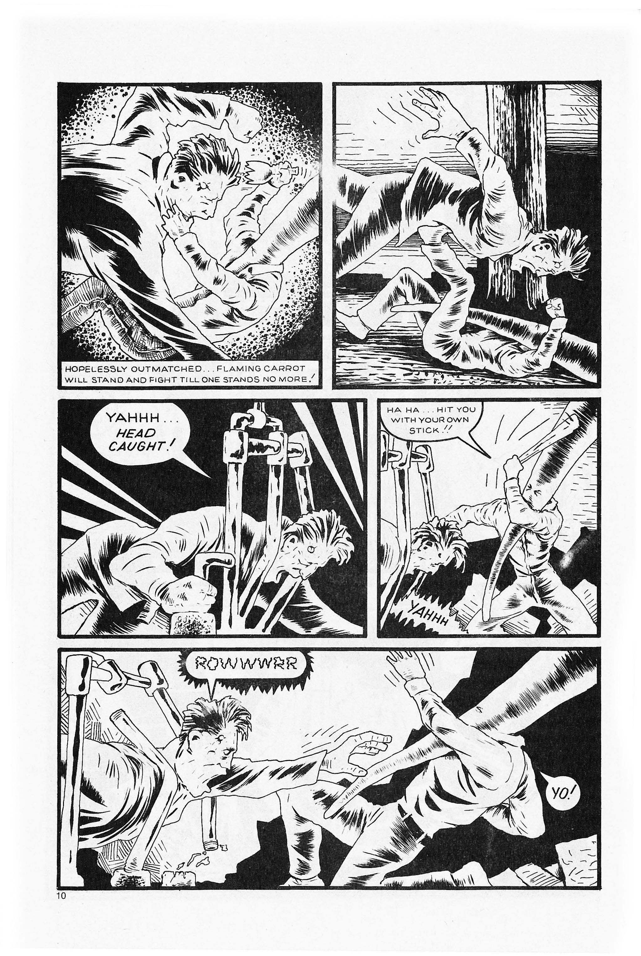 Read online Flaming Carrot Comics (1984) comic -  Issue #5 - 12