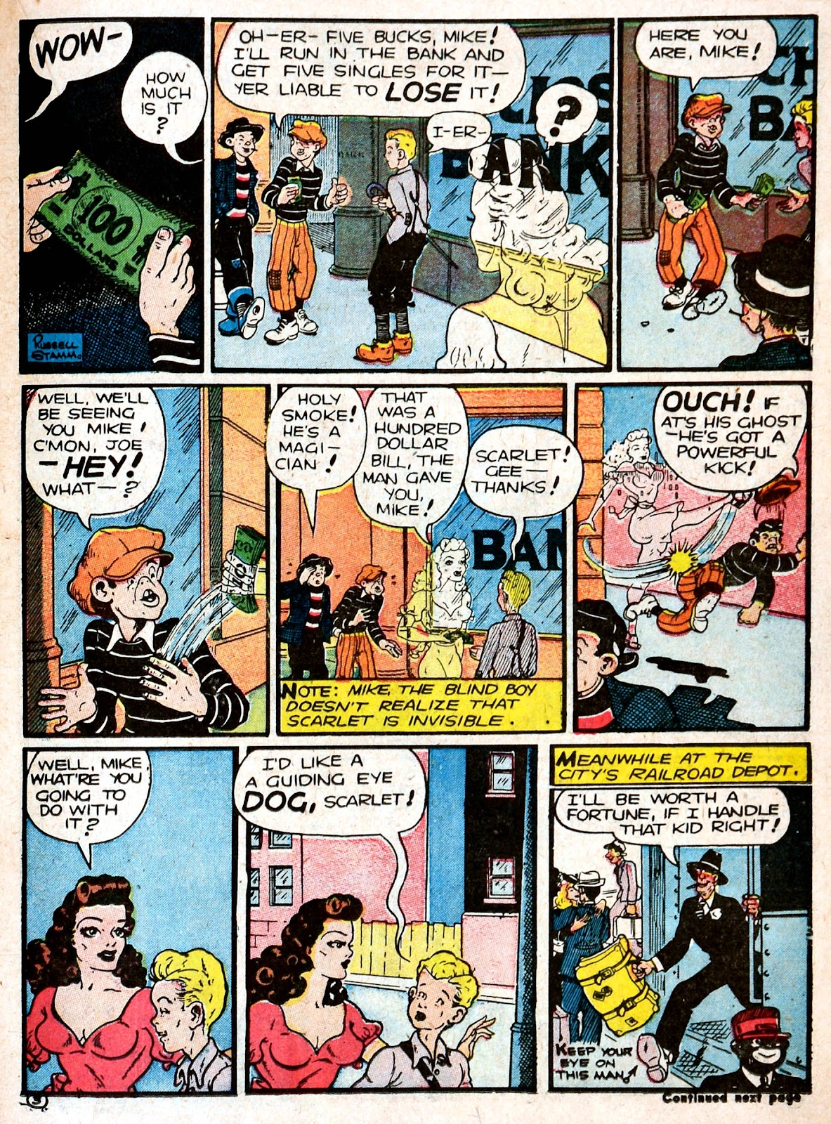Read online Famous Funnies comic -  Issue #87 - 27