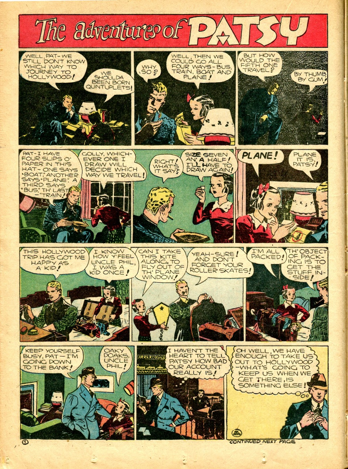 Read online Famous Funnies comic -  Issue #77 - 29