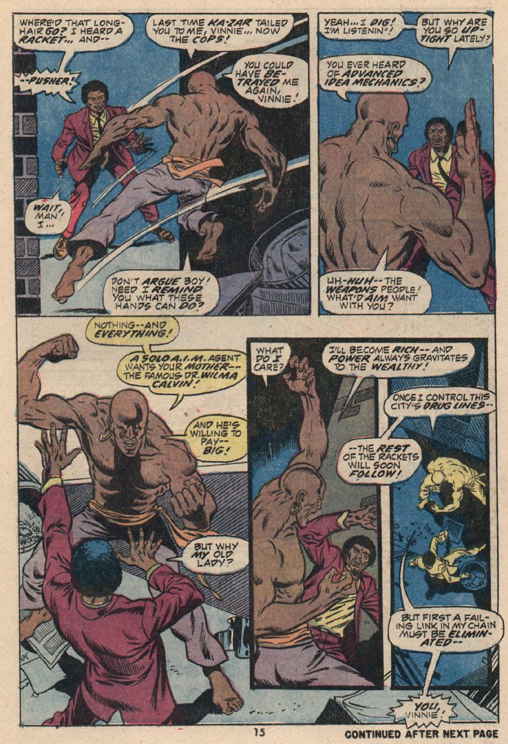 Read online Astonishing Tales (1970) comic -  Issue #16 - 12