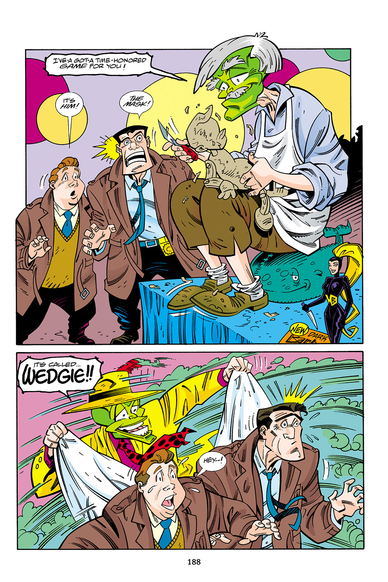 Read online Adventures Of The Mask Omnibus comic -  Issue #Adventures Of The Mask Omnibus Full - 187