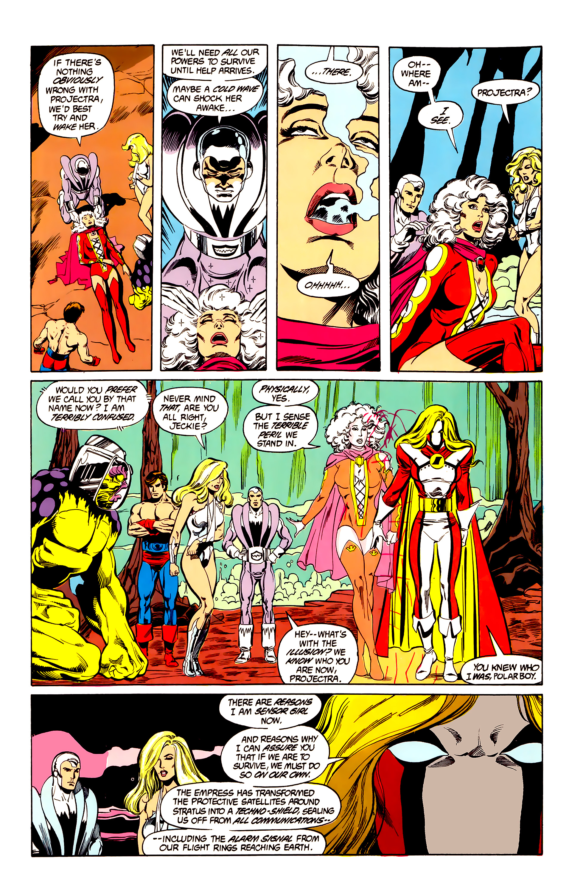 Legion of Super-Heroes (1984) 26 Page 8