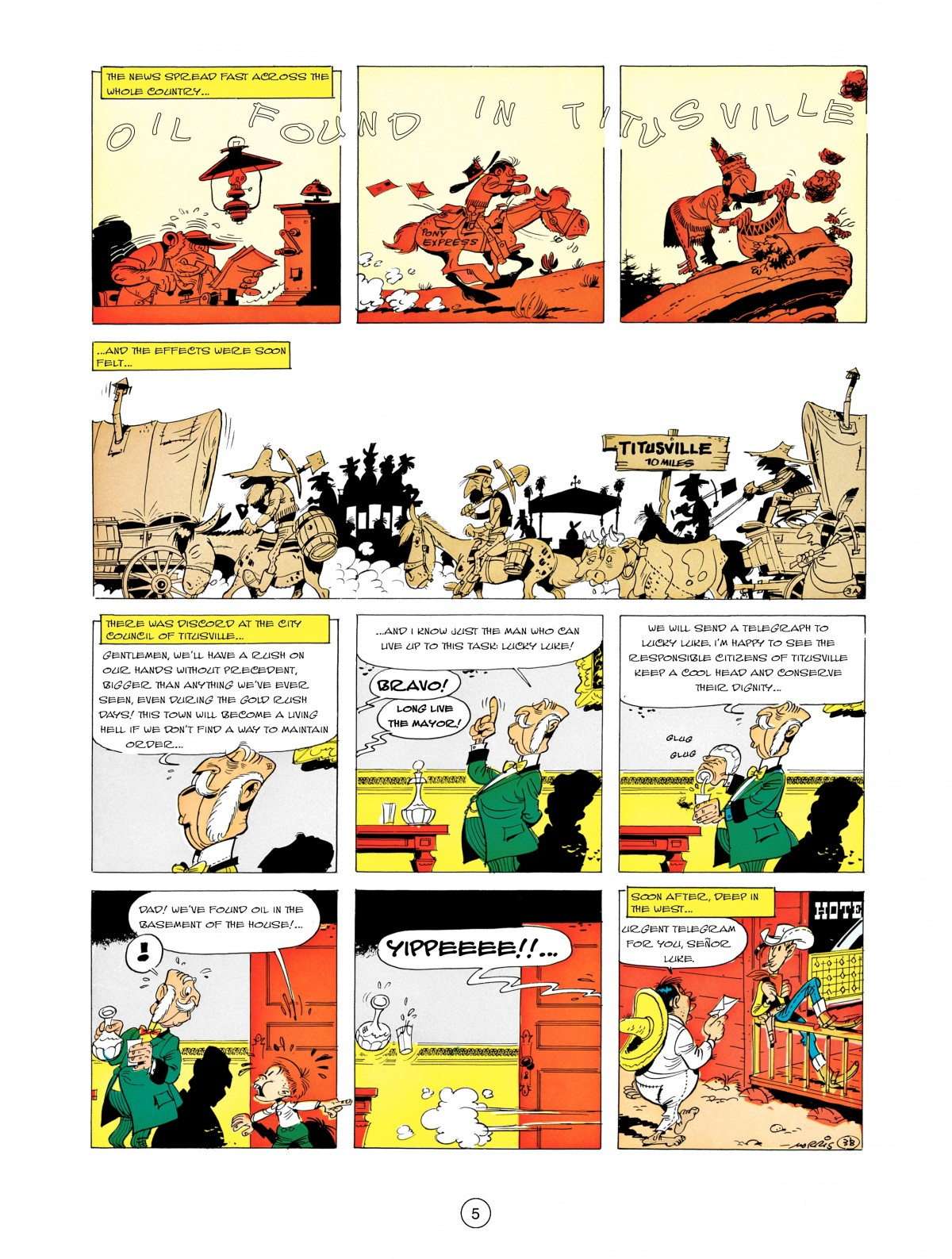 A Lucky Luke Adventure 5 Page 6