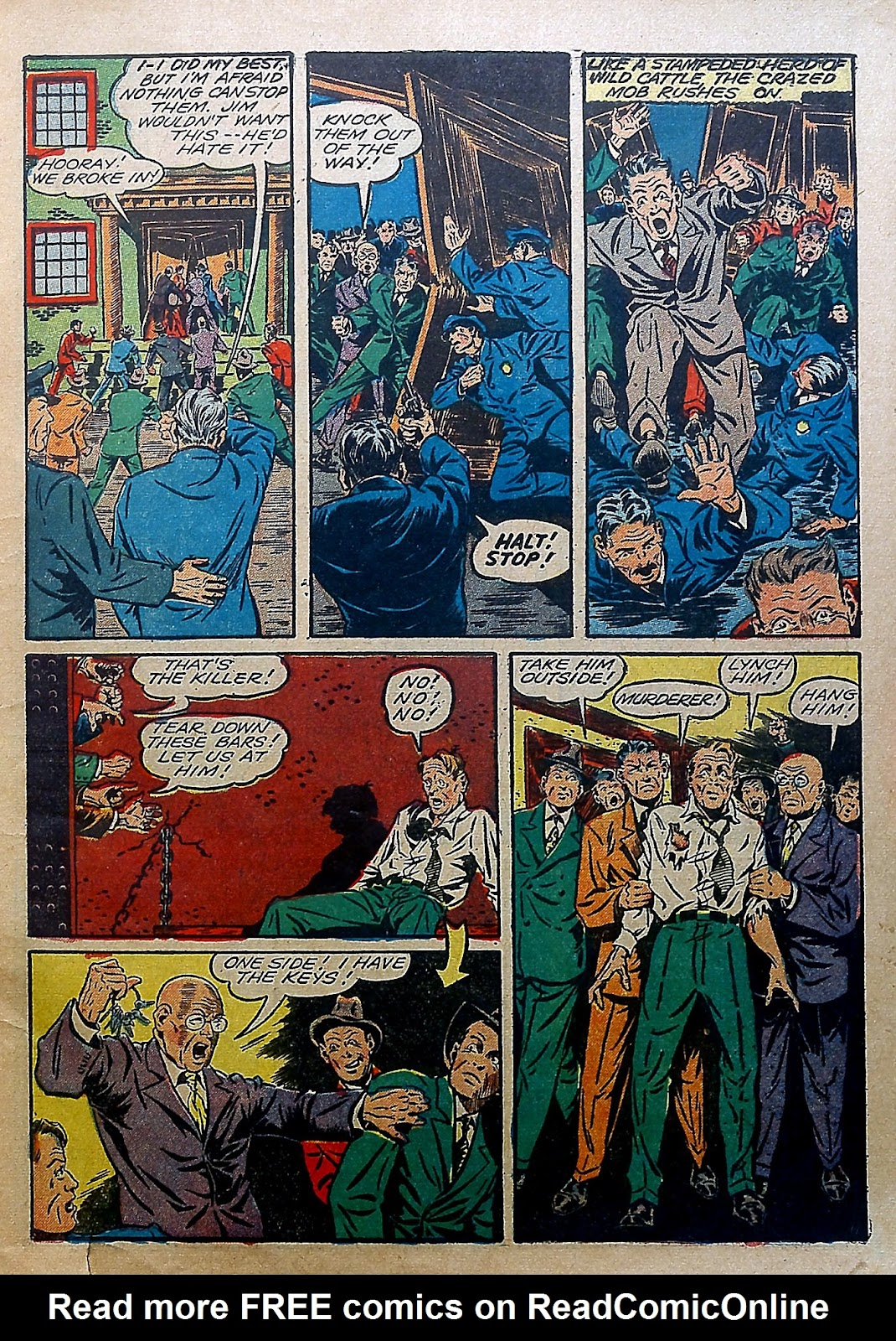 Our Flag Comics issue 5 - Page 8