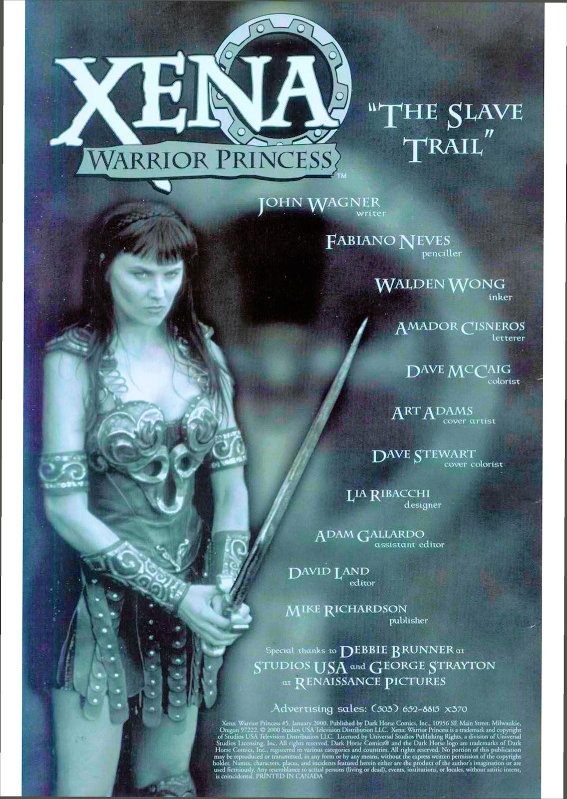 Xena: Warrior Princess (1999) Issue #5 #5 - English 4
