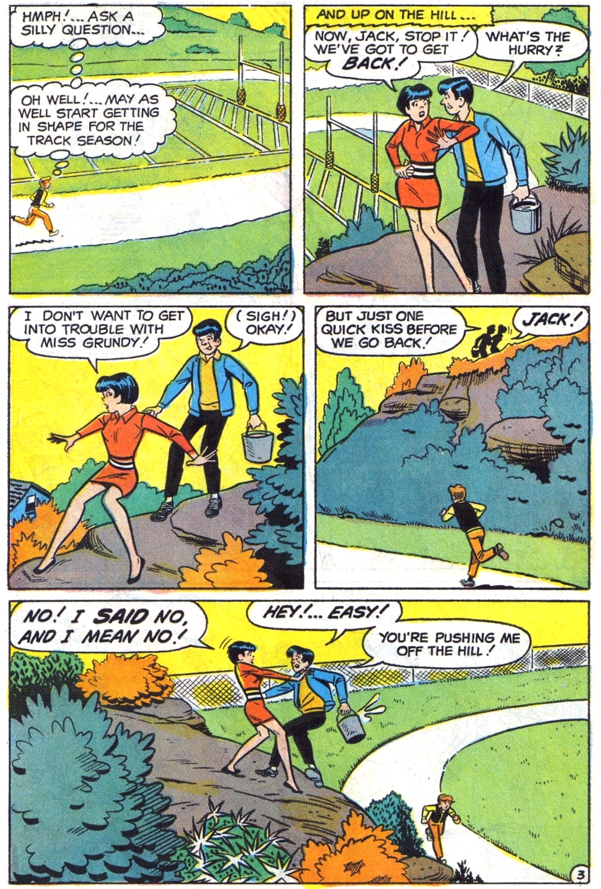 Read online Archie (1960) comic -  Issue #190 - 22