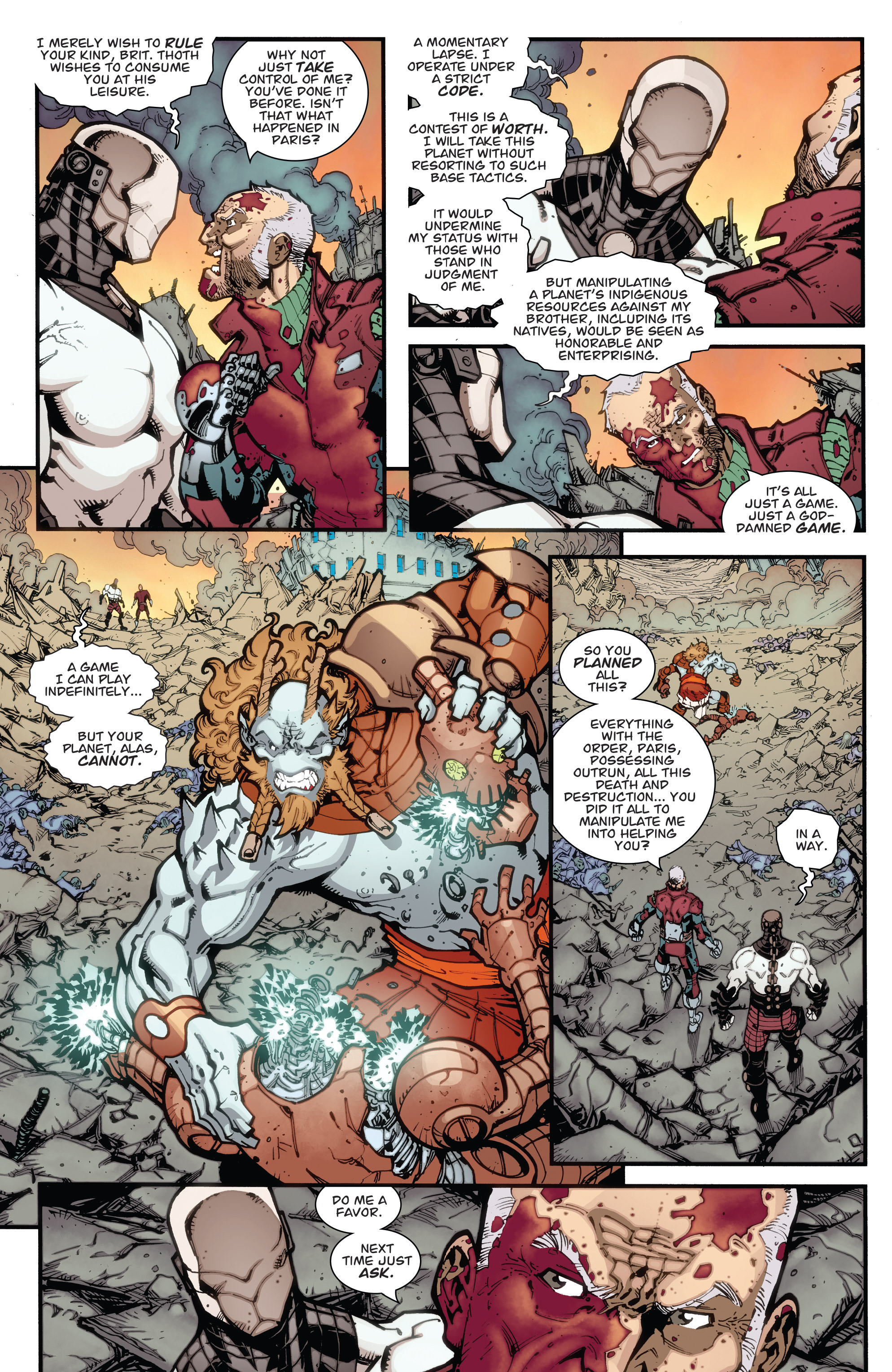 Read online Guarding the Globe (2012) comic -  Issue #6 - 17