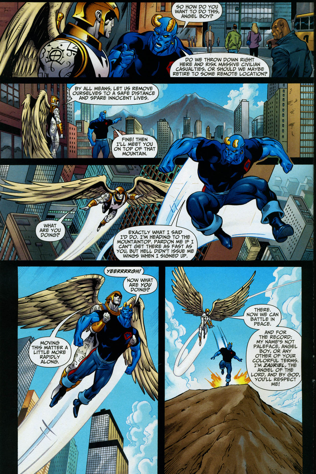 Read online Shadowpact comic -  Issue #14 - 6