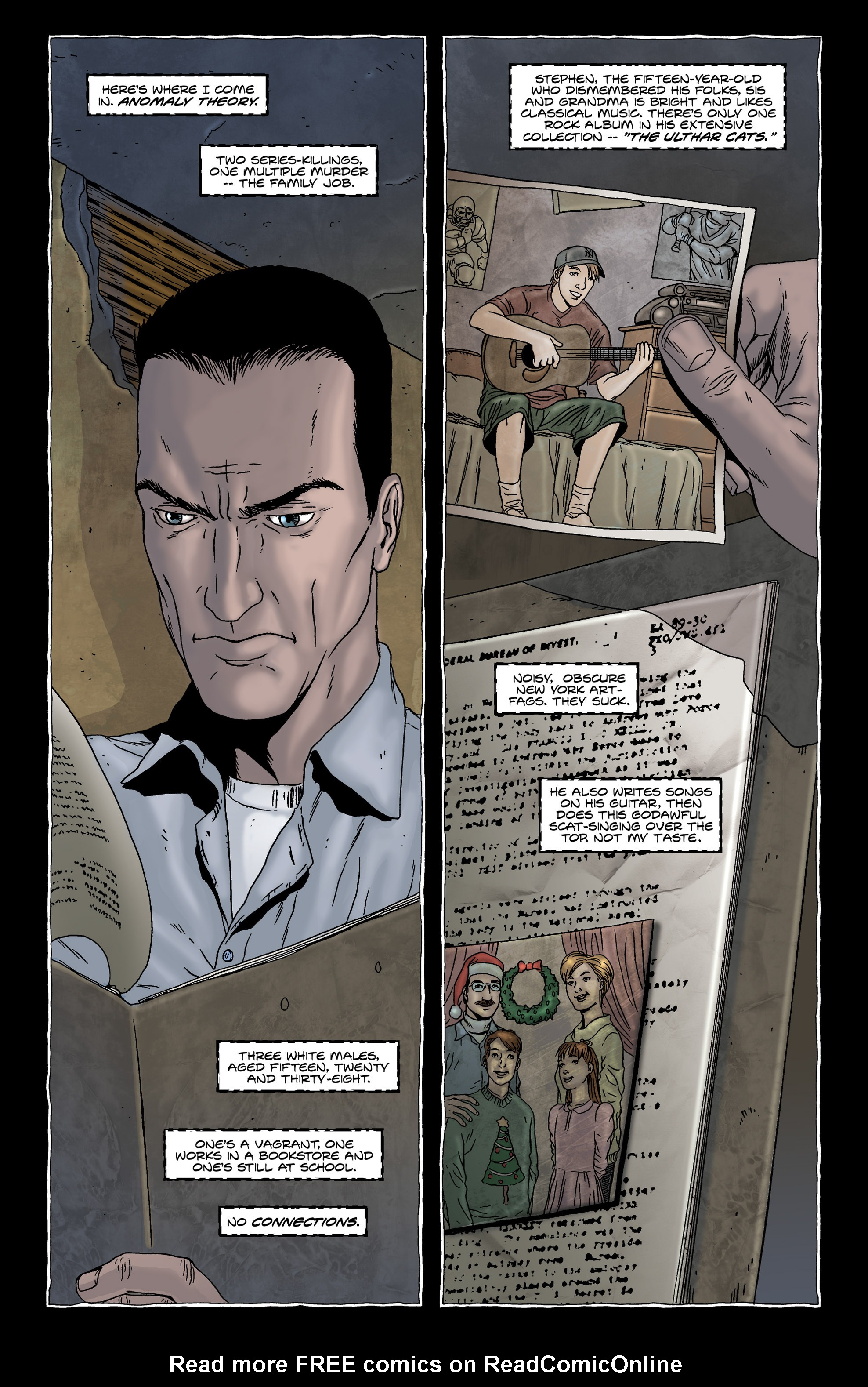 Read online Alan Moore's The Courtyard comic -  Issue # TPB - 14