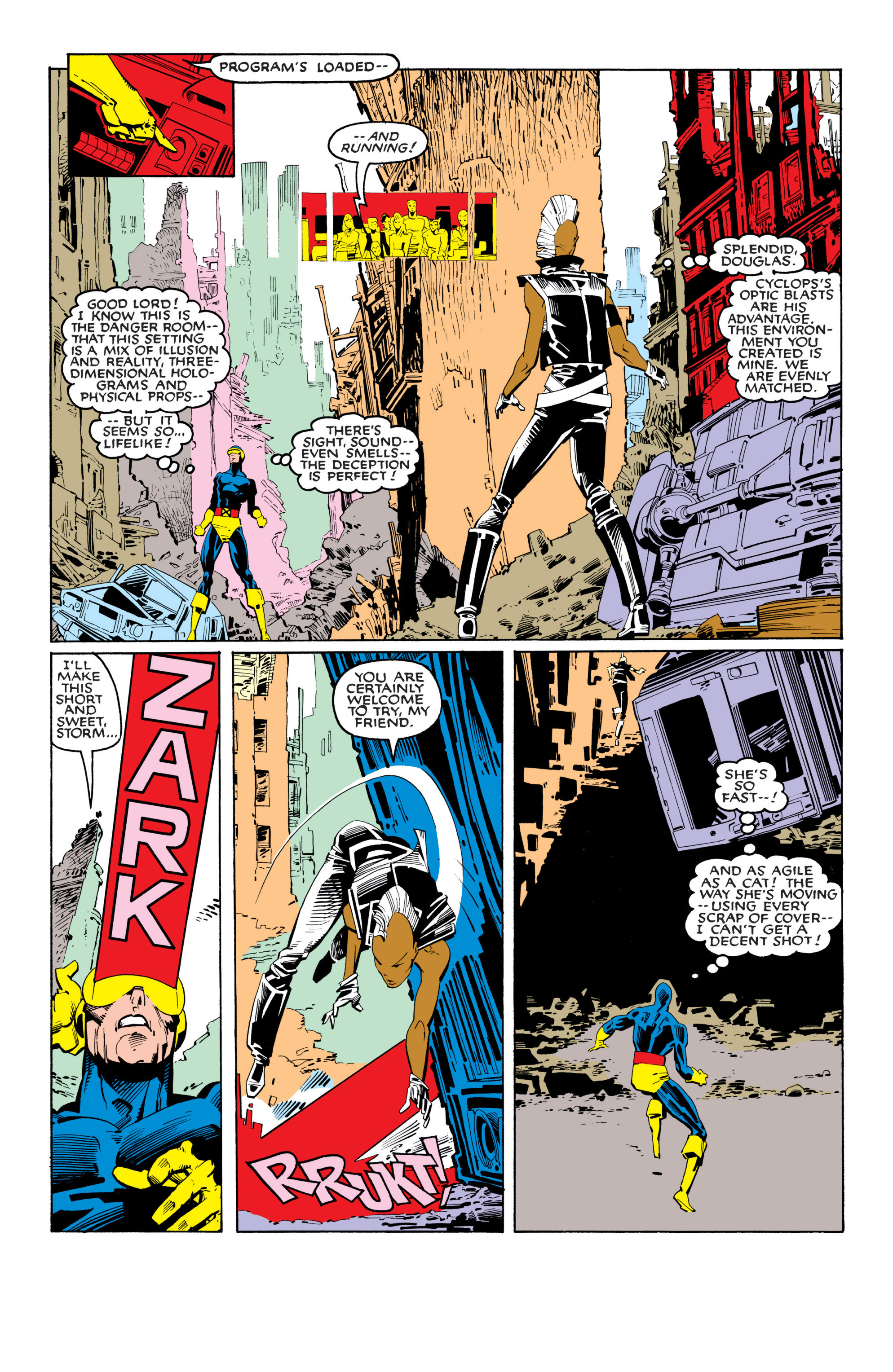 Read online Uncanny X-Men (1963) comic -  Issue #201 - 17