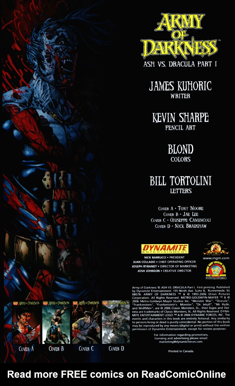 Army of Darkness (2006) Issue #8 #4 - English 3