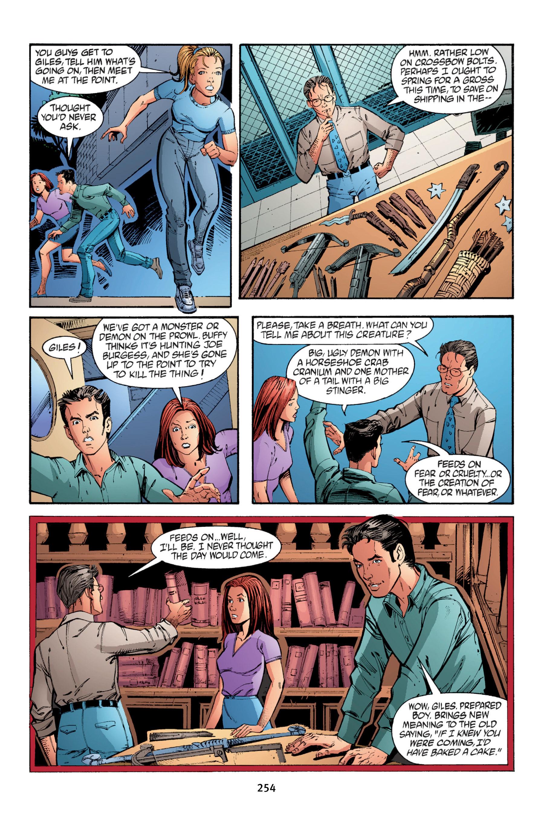 Read online Buffy the Vampire Slayer: Omnibus comic -  Issue # TPB 4 - 252